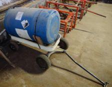 Wagon With Barrel