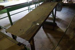 Slide Off Table