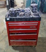 Craftsman Toolbox with Lots of Shaper Heads