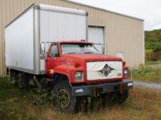 GMC TopKick Box Truck