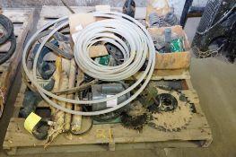 Electric Motor, Belts, Sprockets etc.