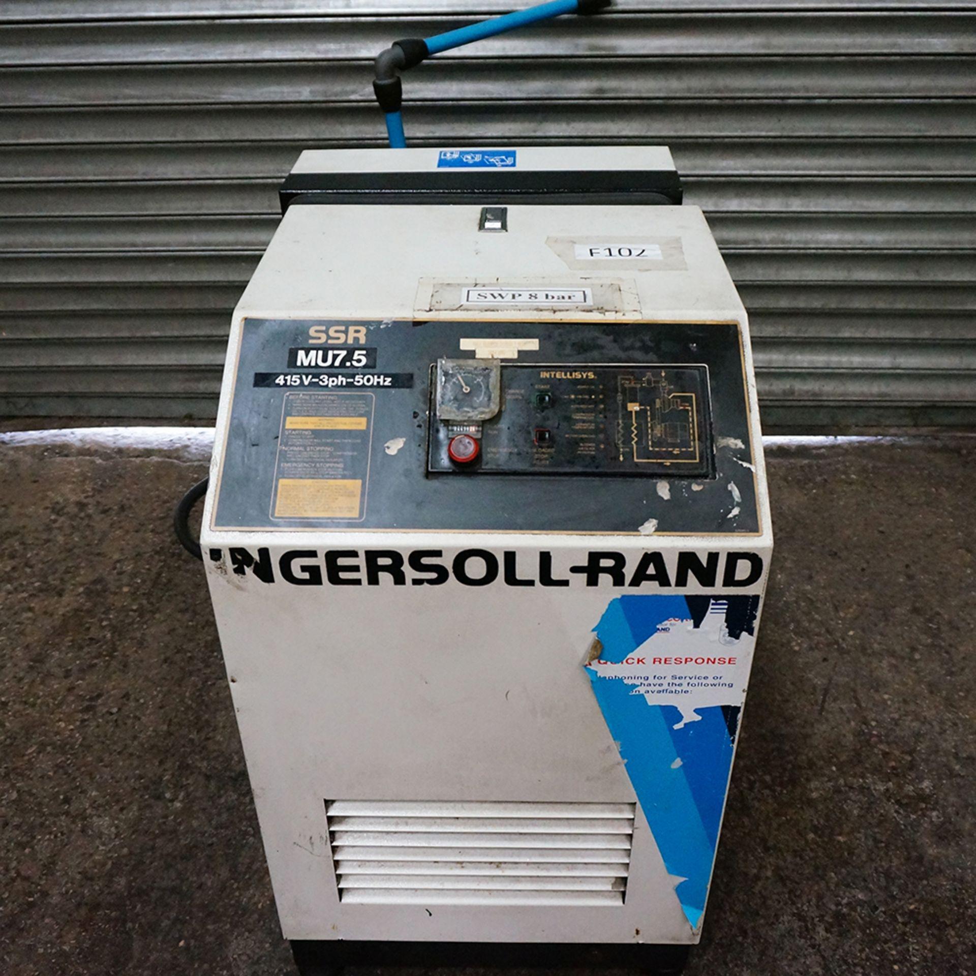 Lot 26 - Ingersoll Rand Model SSR MV7.5 Air Compressor