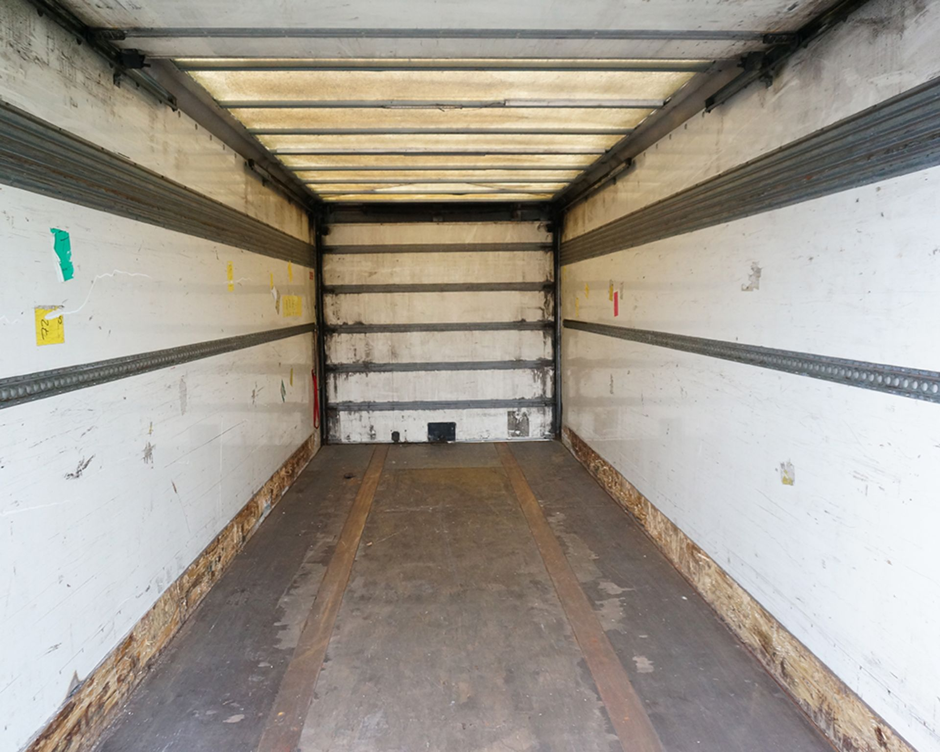 Lot 5 - DON BUR Twin Axle Drawbar Box Trailer, 2009, Air Suspension, Roller Shutter Doors
