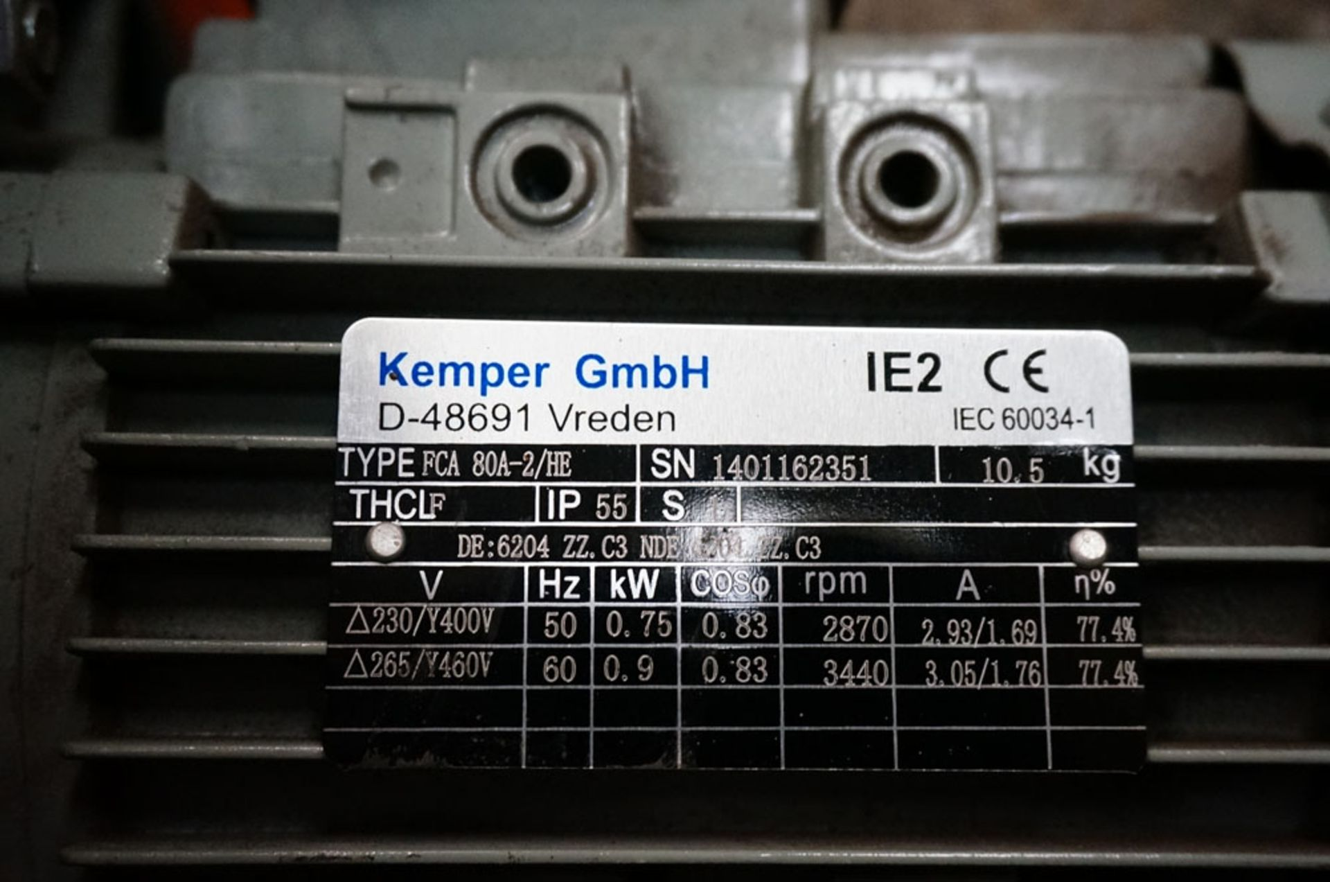 Lot 52 - Kemper Wall Mounted Fume Extraction System.