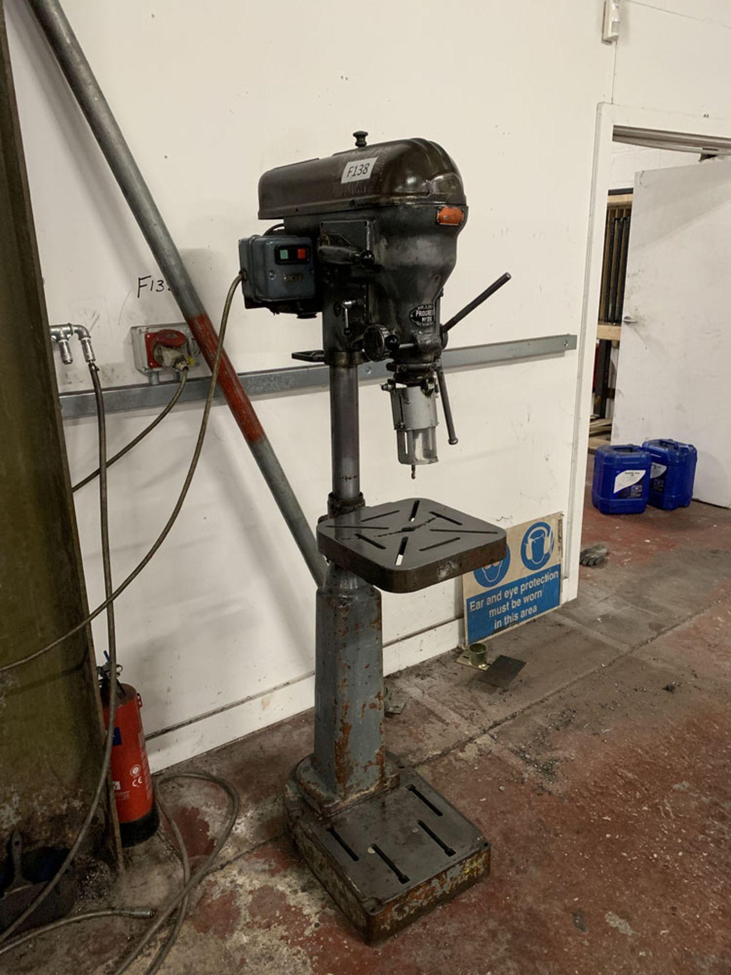 Lot 23 - Progress No. 2G Pedestal Drill.