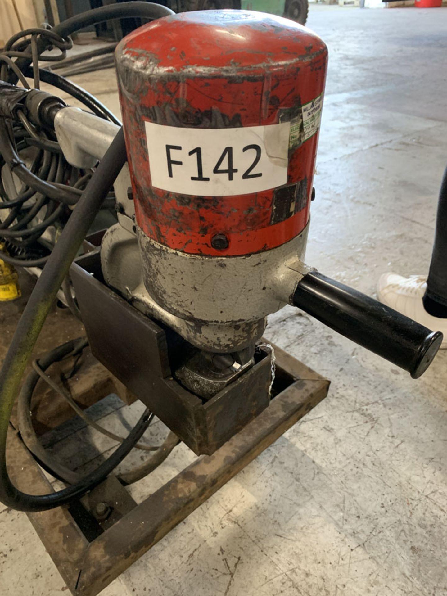 Lot 19 - Multiform Machinery Ltd Mobile Hydraulic Sheet Metal Punch.