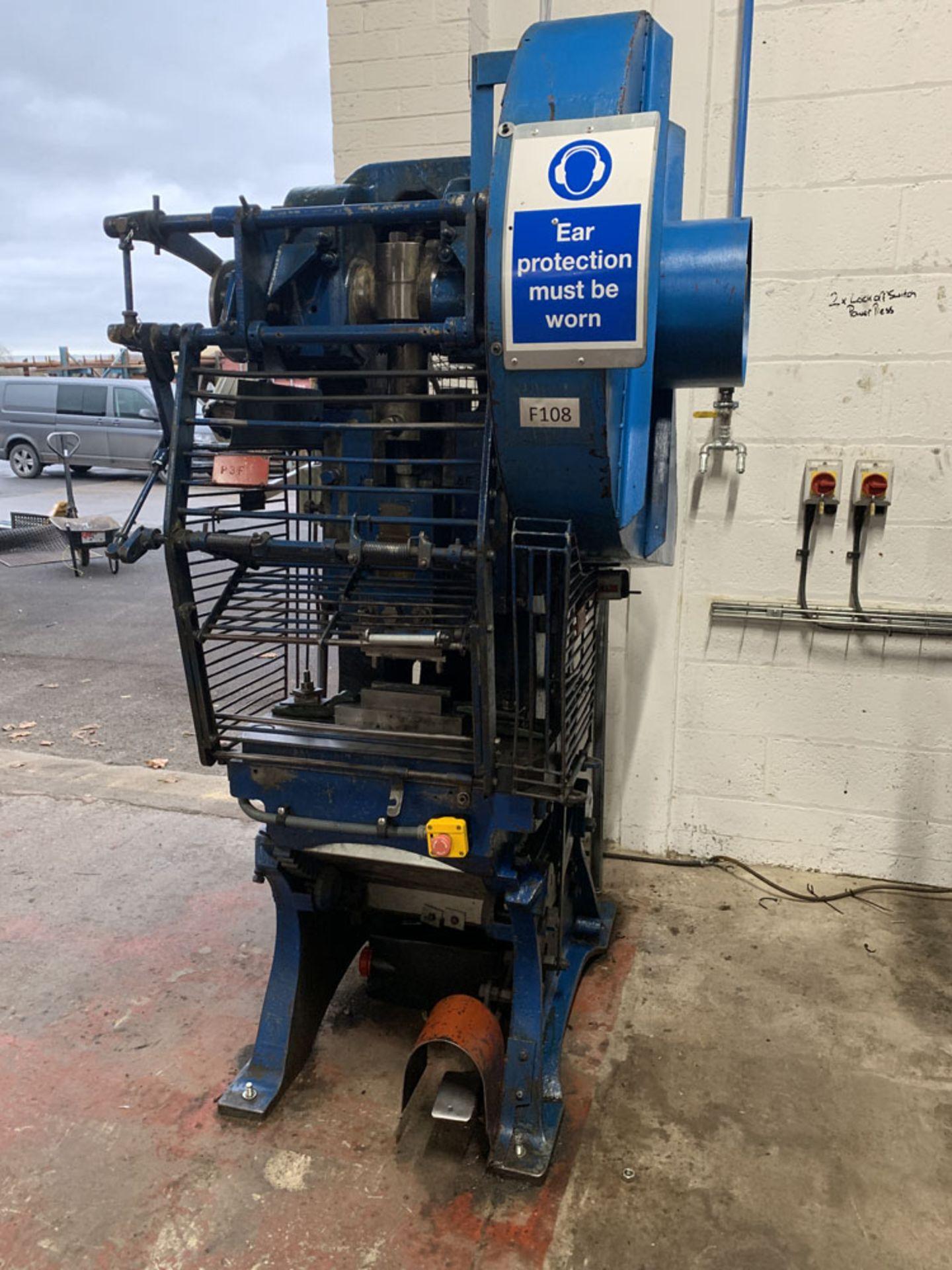 Lot 11 - Taylor & Challen 20 Ton Power Press.