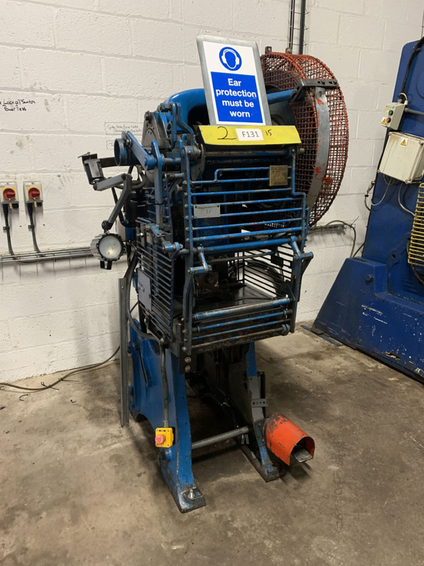Lot 10 - HME LM12 Power Press. 12 Ton Capacity.