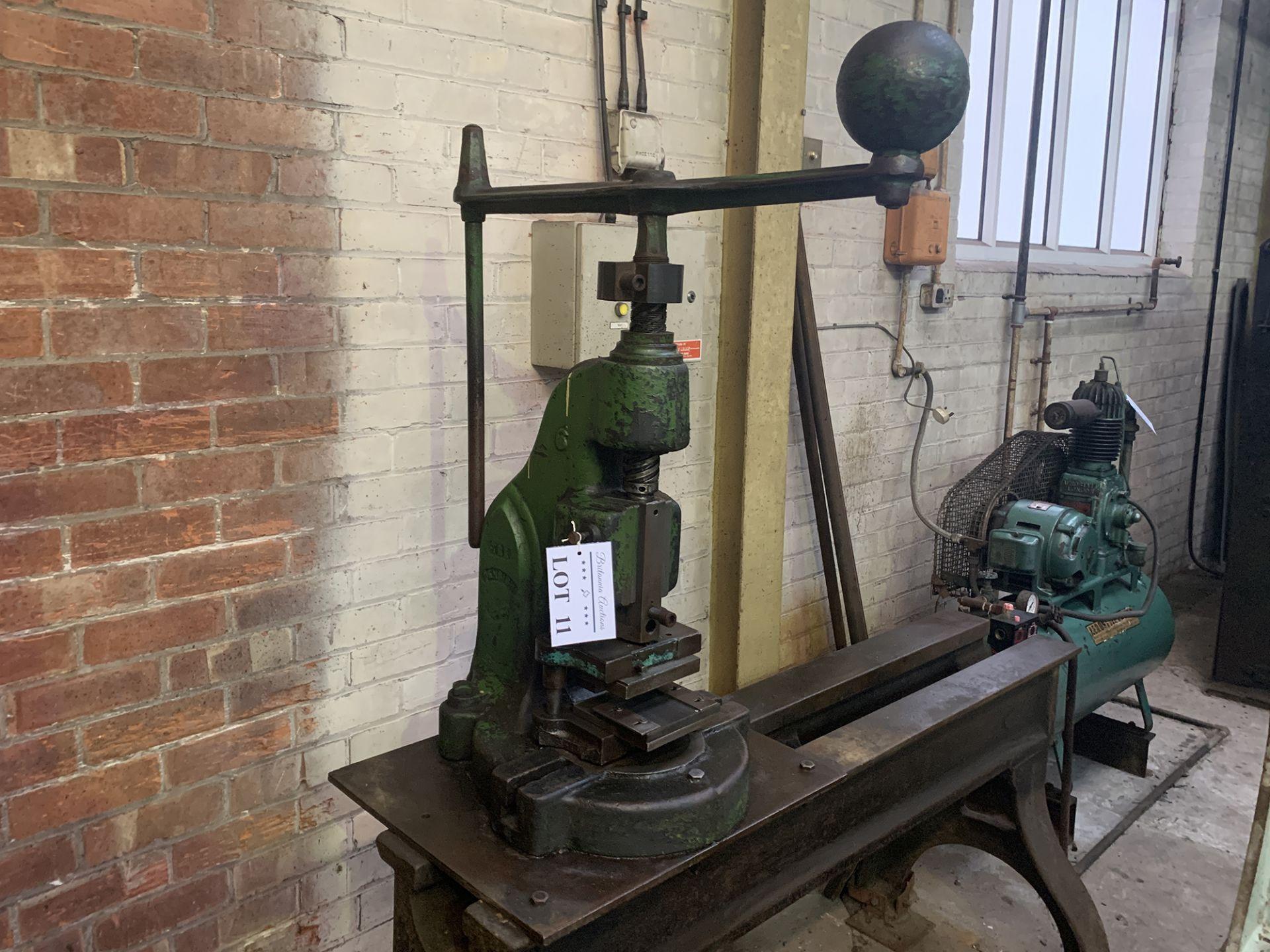 Lot 11 - Denbigh No.6 Fly Press.