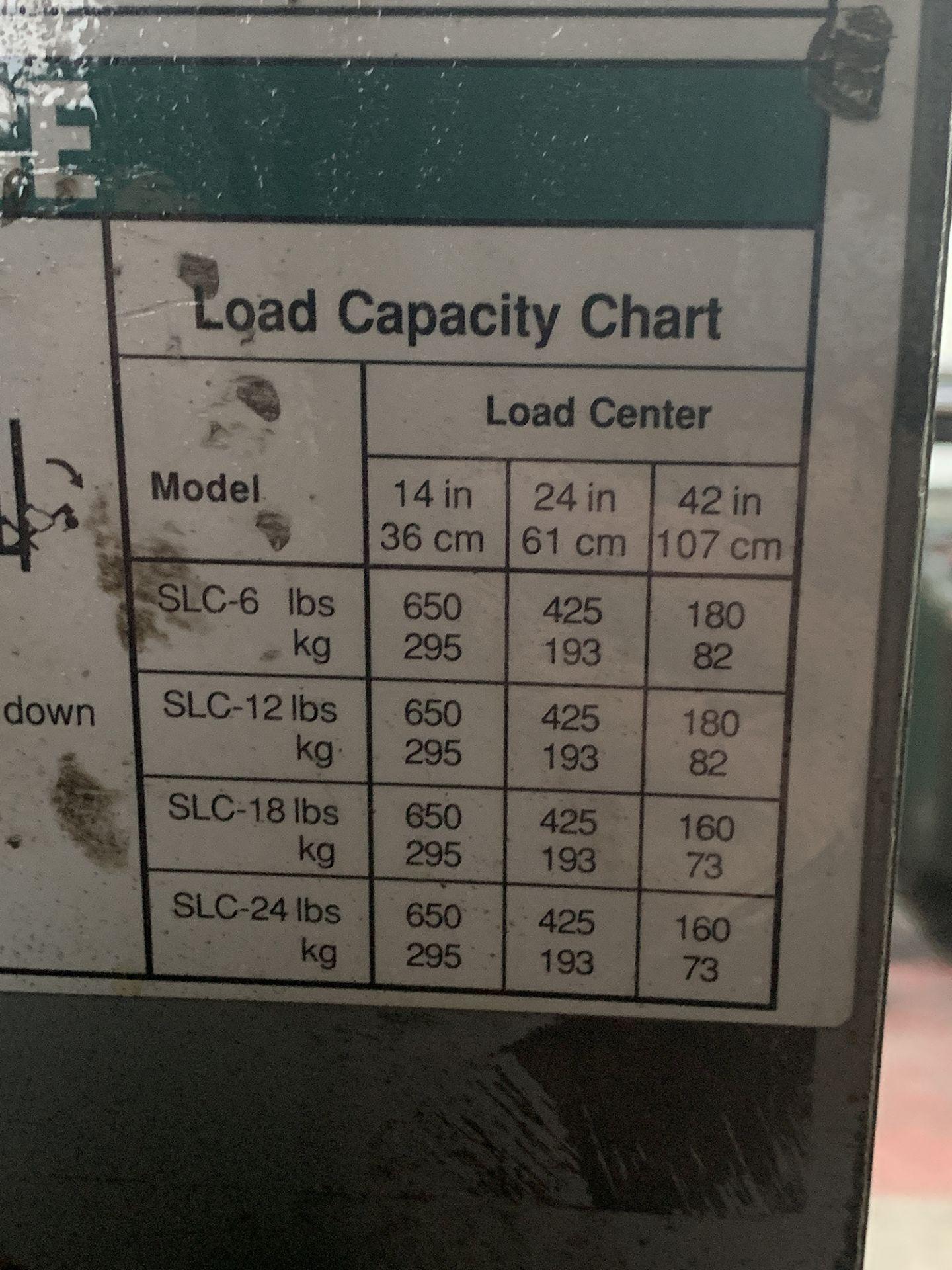 Lot 25 - Genie Superlift SLC-18 Material Lift.