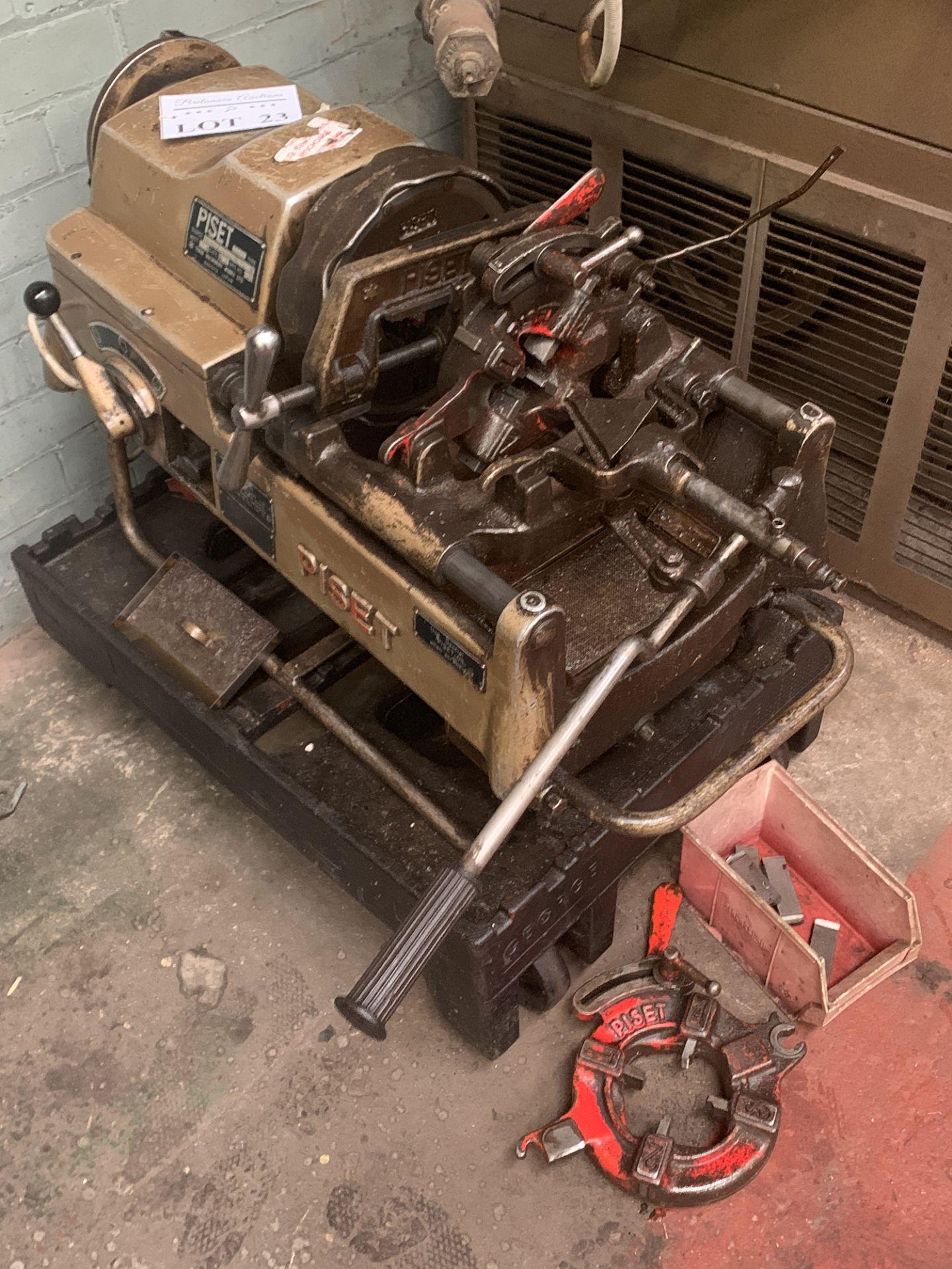 Lot 23 - Piset Type 3S-G Pipe Threader.