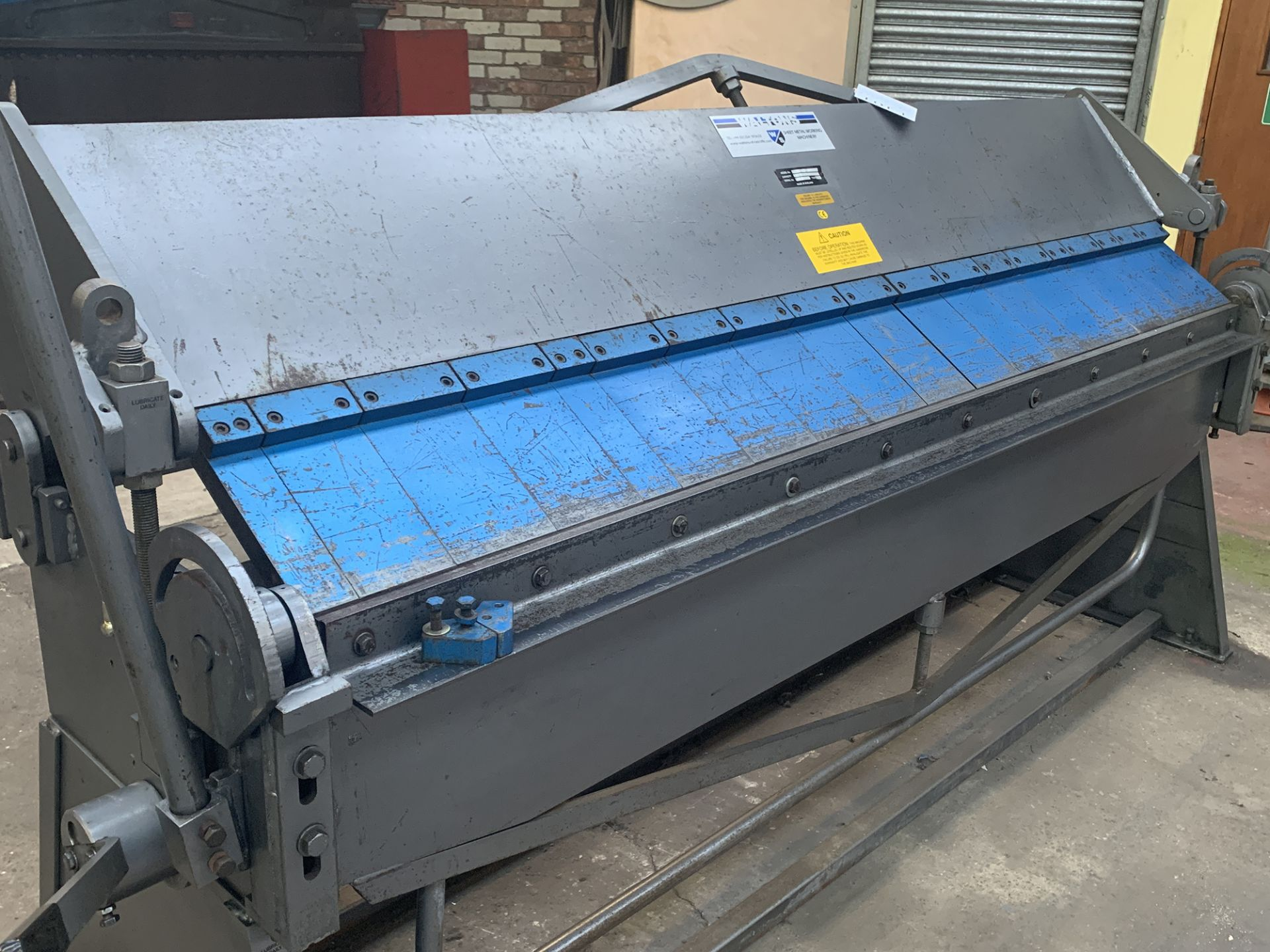 """Lot 1 - Waltons Model BPFM 100"""" x 14swg Box & Pan Folding Machine."""