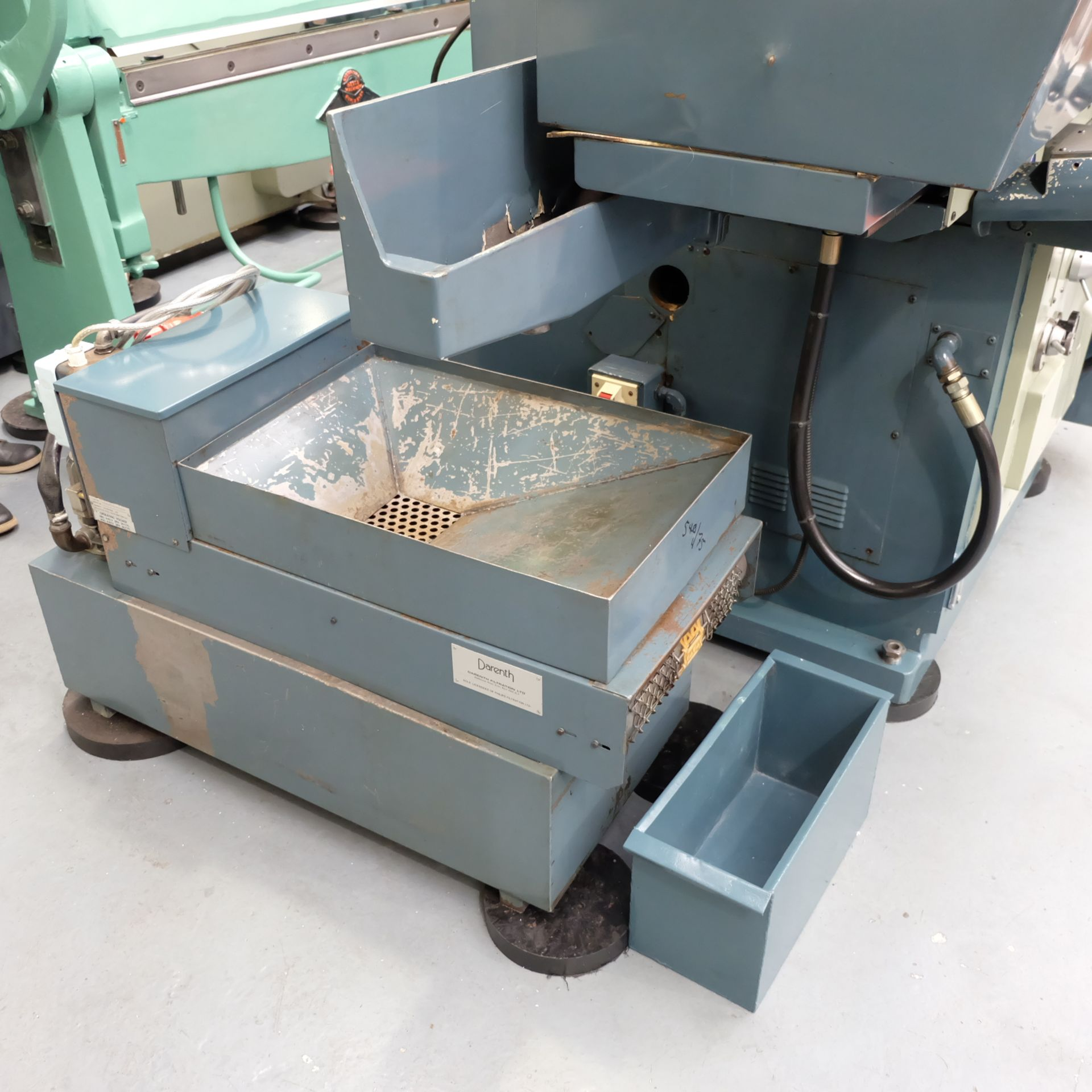Lot 3 - Jones & Shipman Type 1415 Toolroom Surface Grinder. With Magnetic Chuck & Coolant Tank.