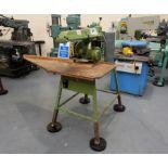 Multico Model C2/3 Radial Wood Saw. Swivelling/Tilting Cross Cut Timber Sawing Machine.