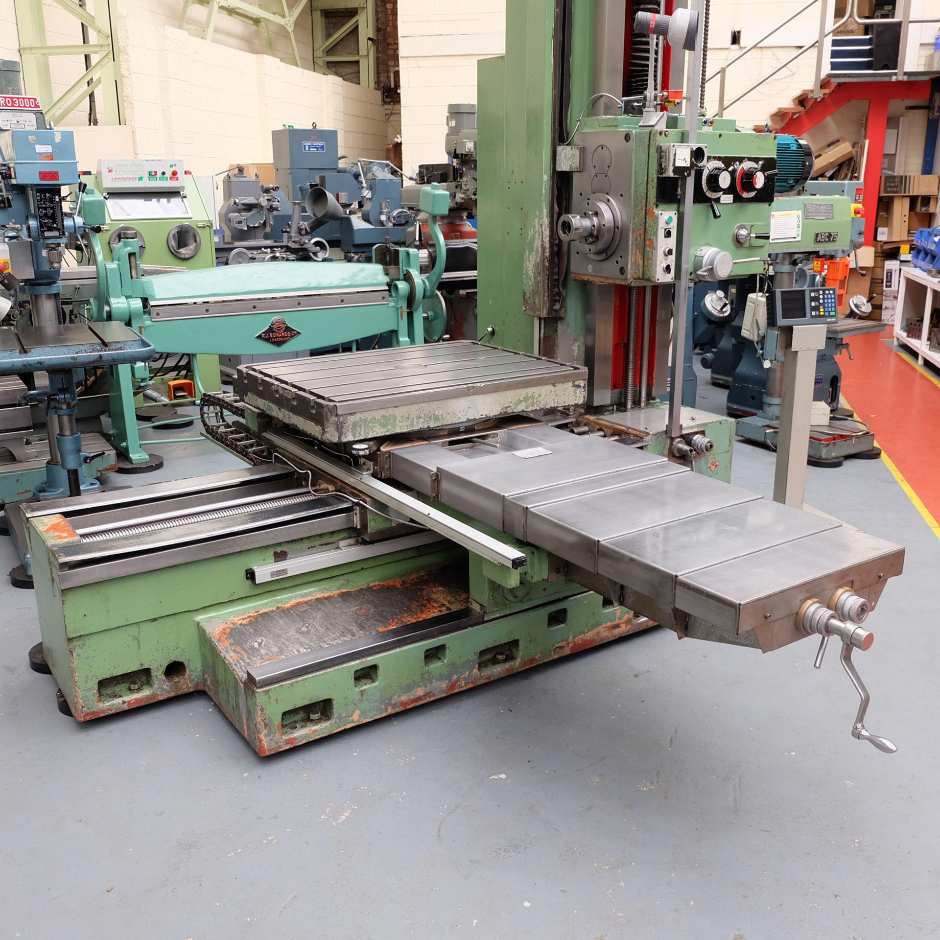 Lot 1 - Ceruti Model ABC 75 Horizontal Boring & Milling Machine. With Tooling.