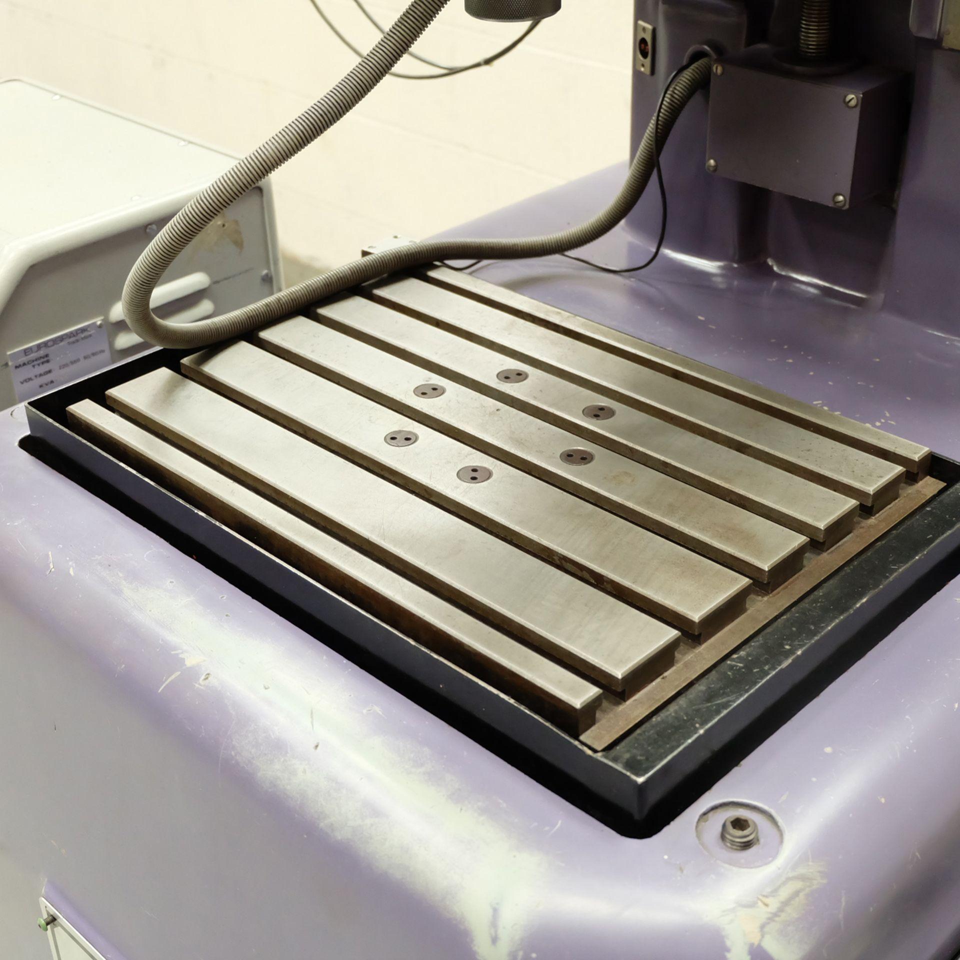 Eurospark Model H425 Solid Sink EDM. Table 420mm x 300mm.Generator Eurospark AP10 mk11. - Image 5 of 17