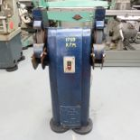 """Gate Milford: Double ended Tool Grinder. Wheel Size 12"""" x 1 1/2""""."""