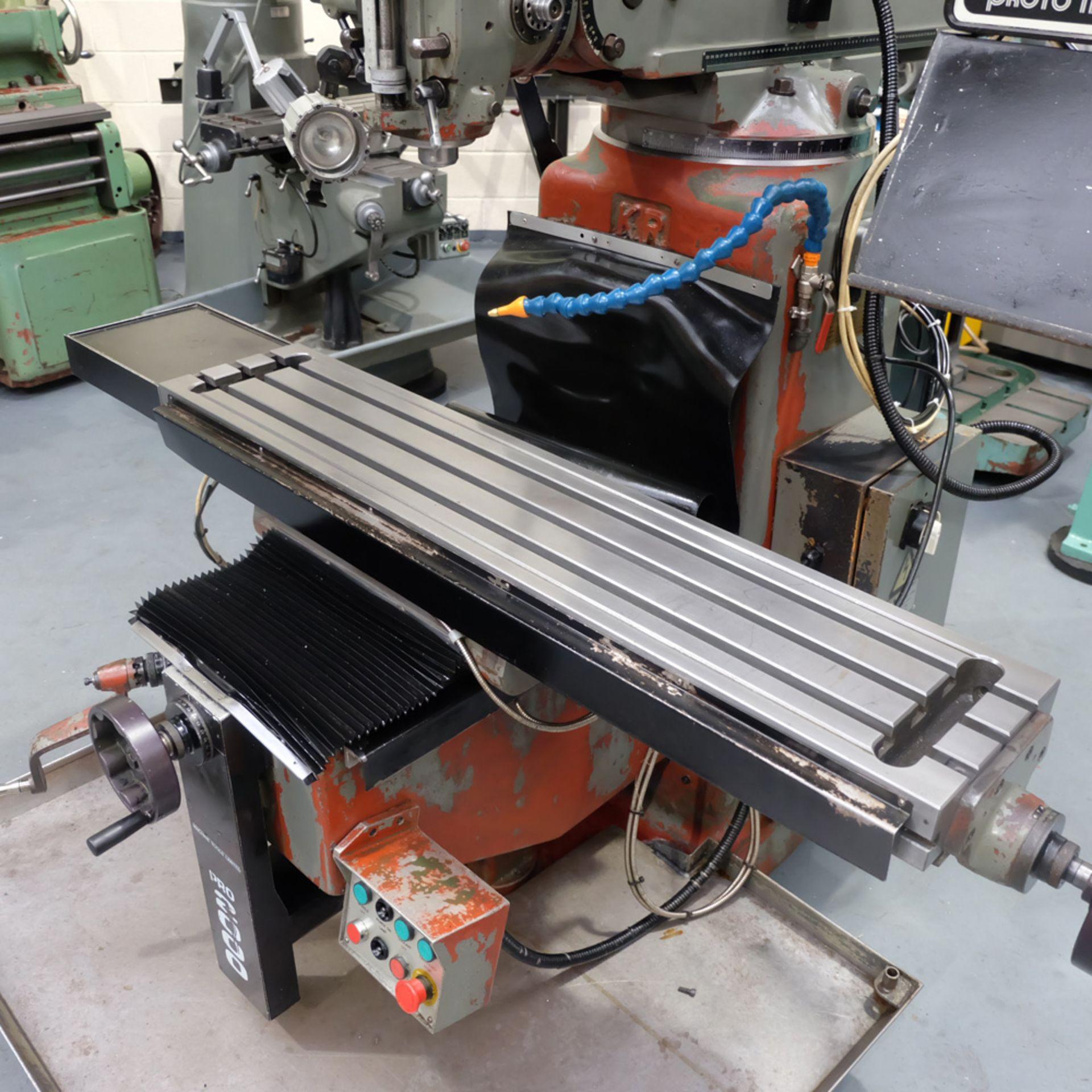 KRV Pro 2000: Turret Milling Machine. - Image 5 of 11