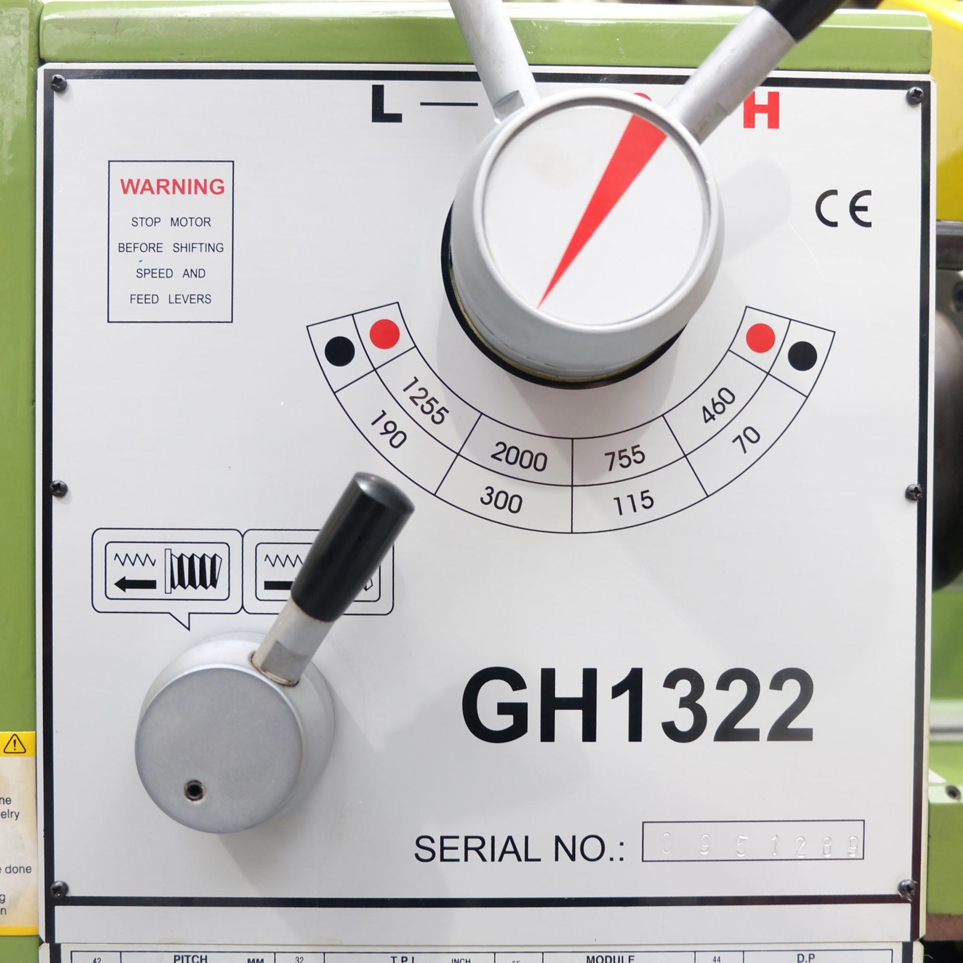 Lot 12 - Warco Model GH 1322: Gap Bed Centre Lathe.