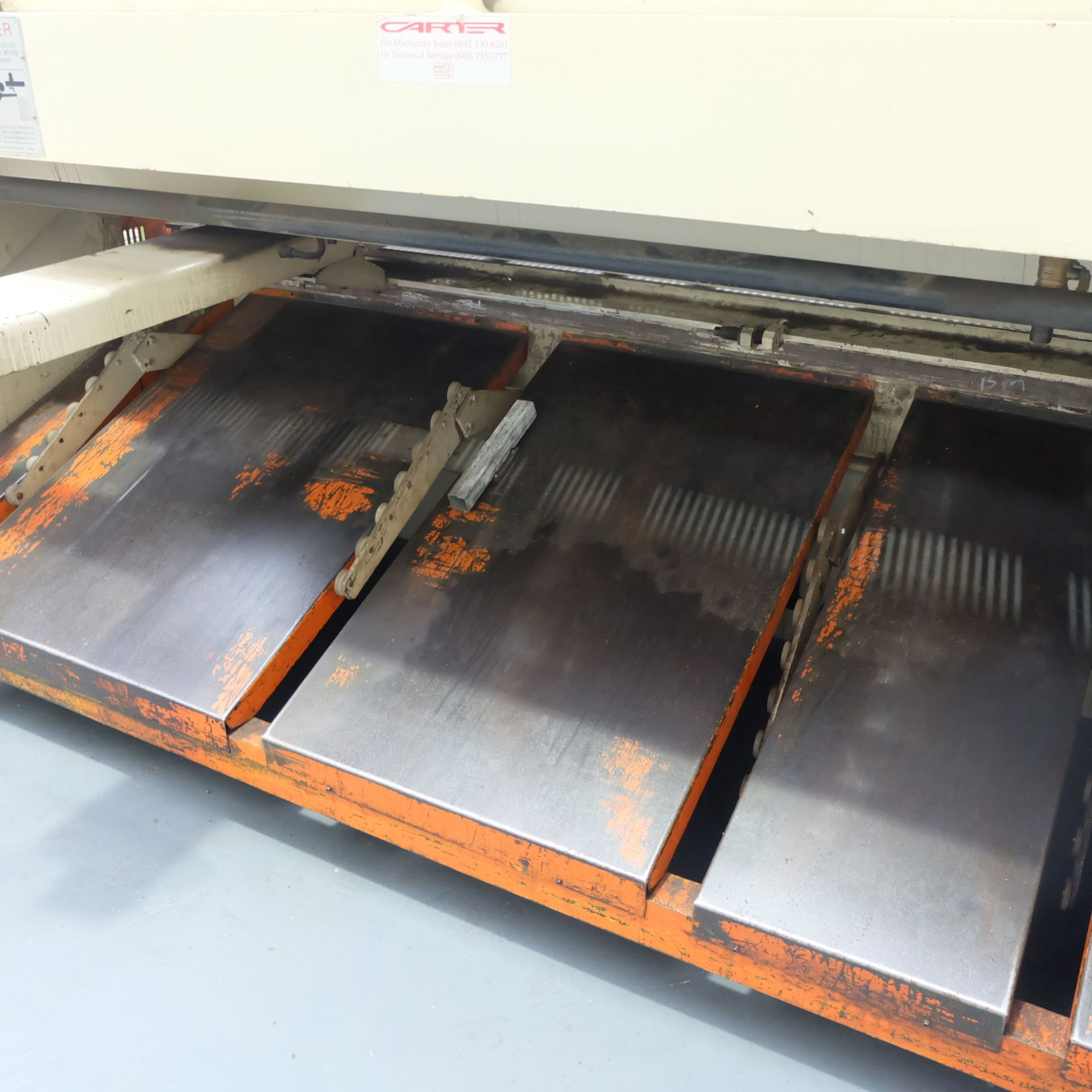 Lot 7 - Carter Model QC12K-6x3200: Hydraulic Power Guillotine.