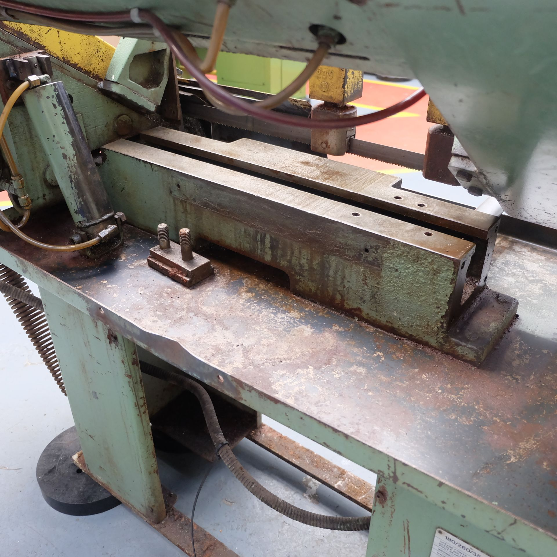 Qualters & Smith Model 180 Sawmaster Horizontal Bandsaw. Capacity Approx 180mm. - Image 4 of 5