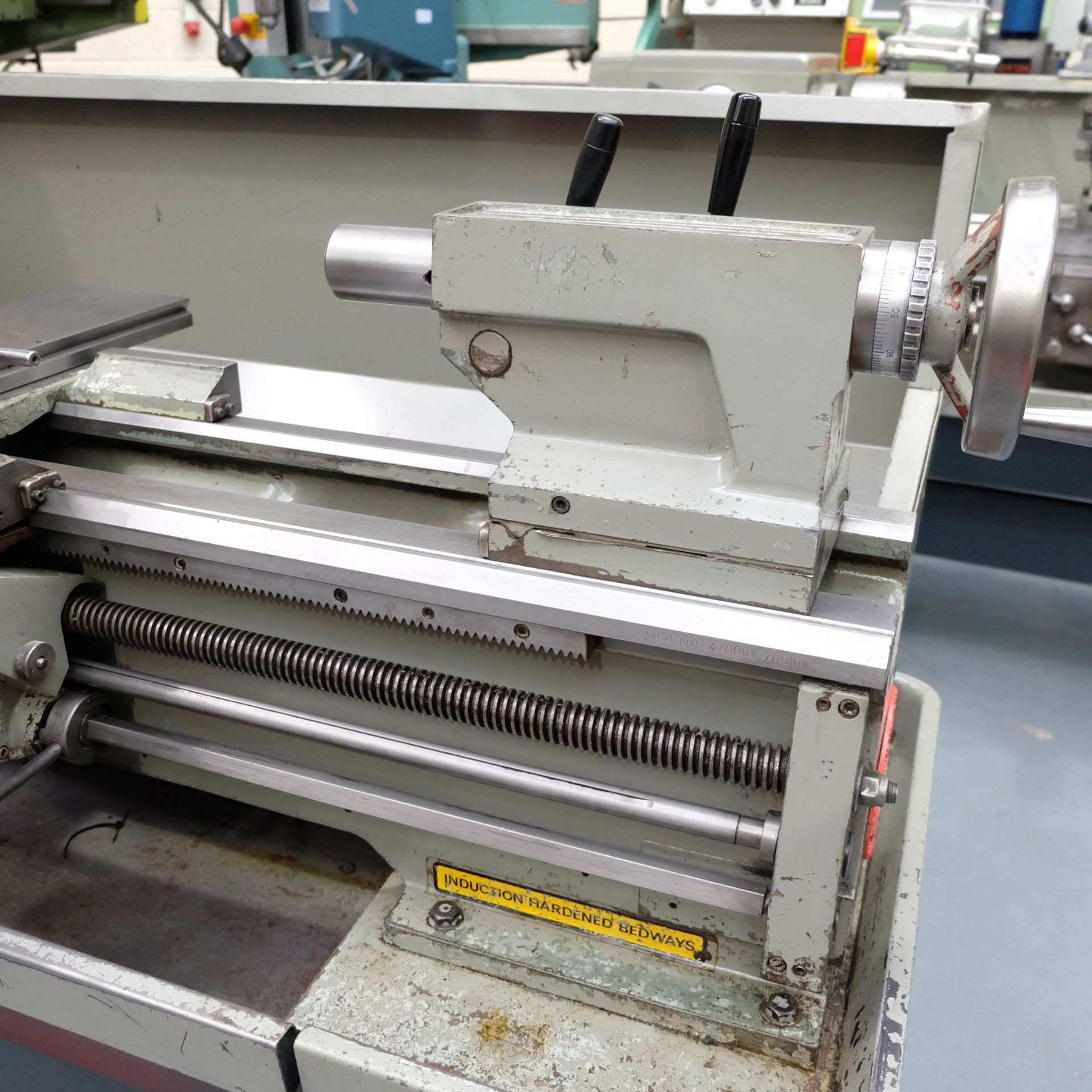 Lot 14 - Colchester Student Gap Bed Centre Lathe.
