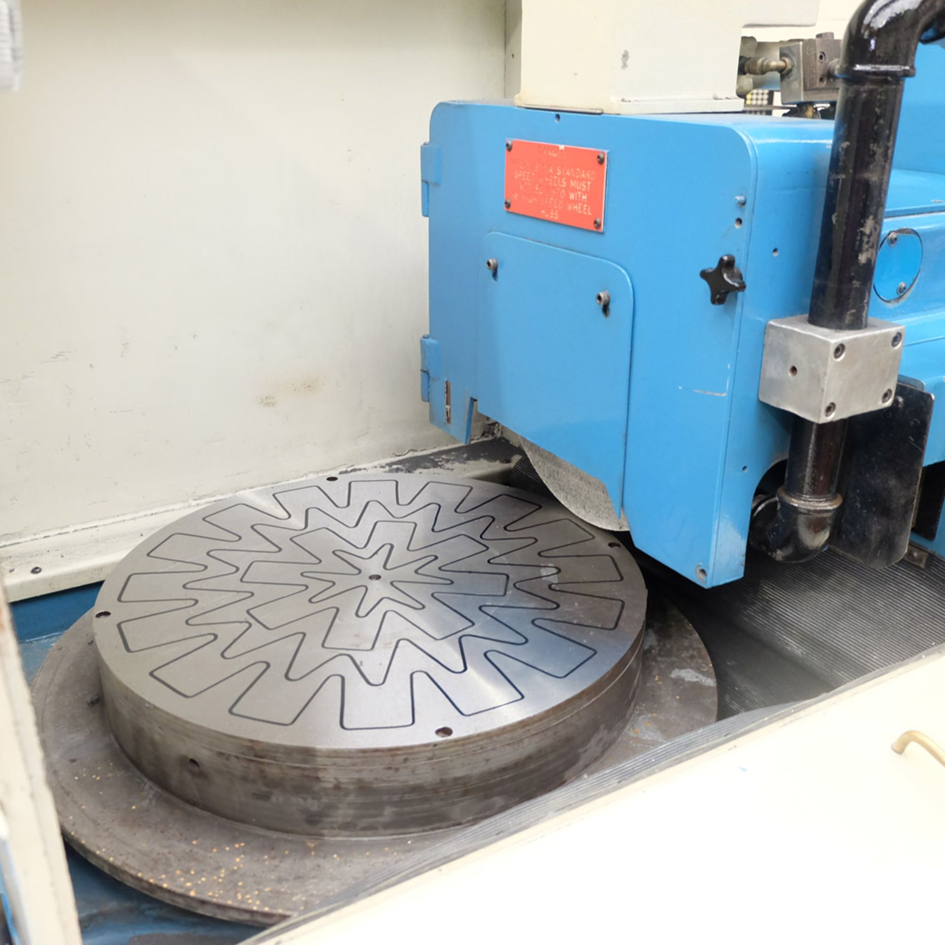 Lot 2 - Abwood Type RG1 Tool Room Ring Grinder. Table Size 500mm.
