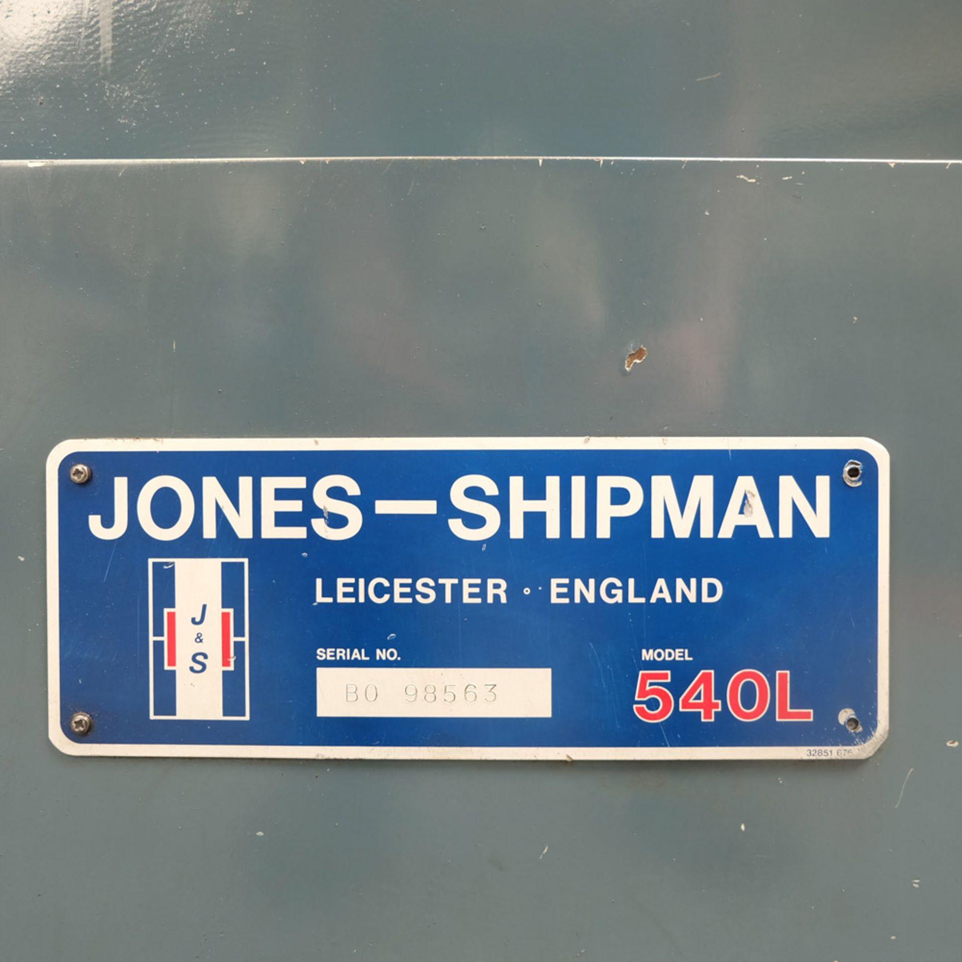 "Lot 4 - Jones & Shipman Type 540L Surface Grinder. Capacity 18"" x 6"". Height Under Wheel 16""."