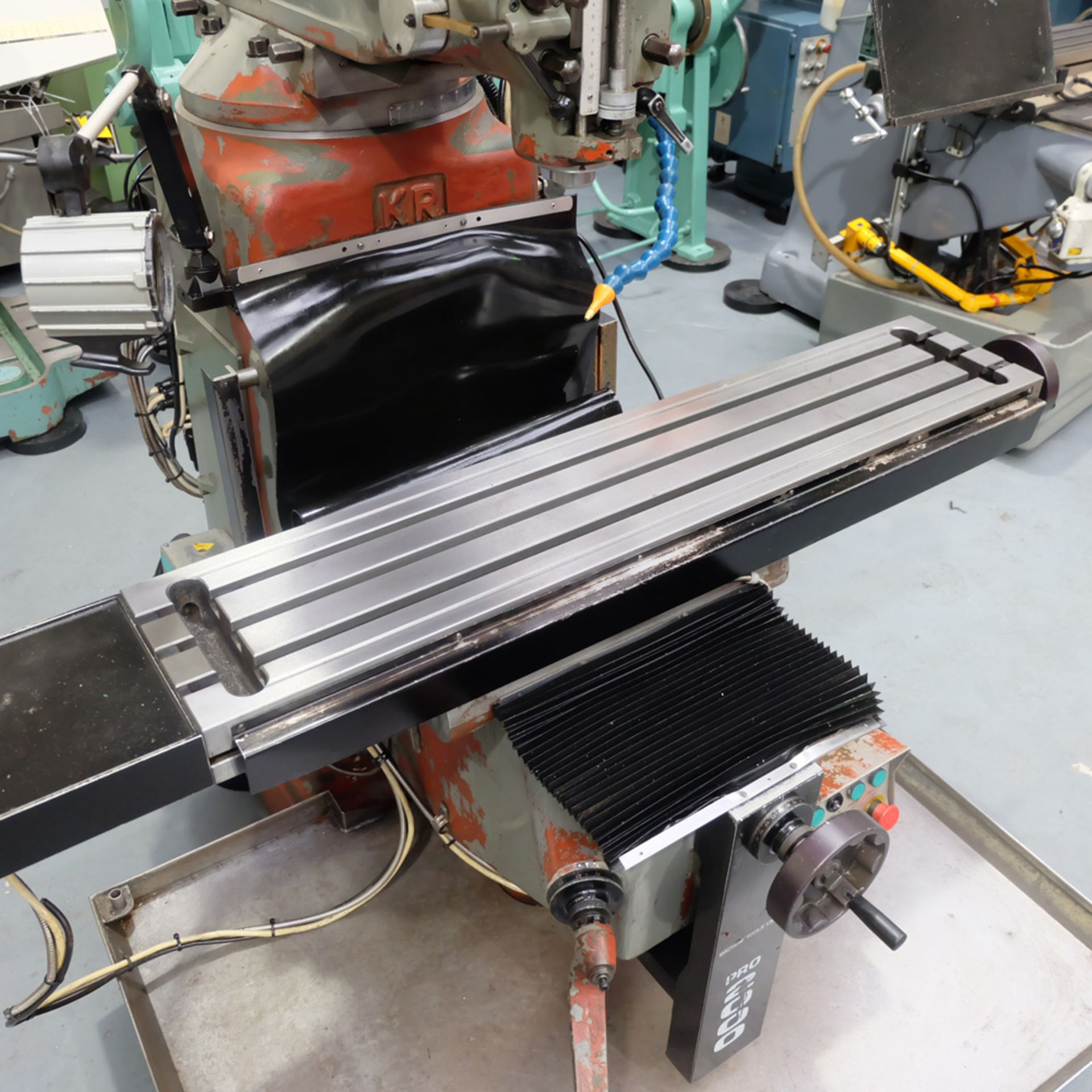 KRV Pro 2000: Turret Milling Machine. - Image 4 of 11