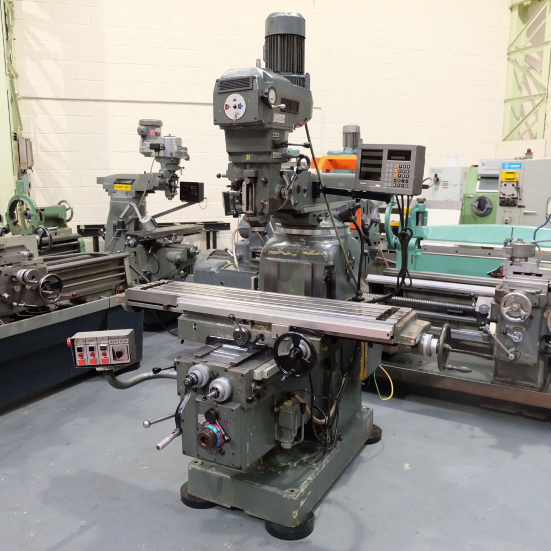 Lot 24 - Ajax Model AJT4: Turret Milling Machine.