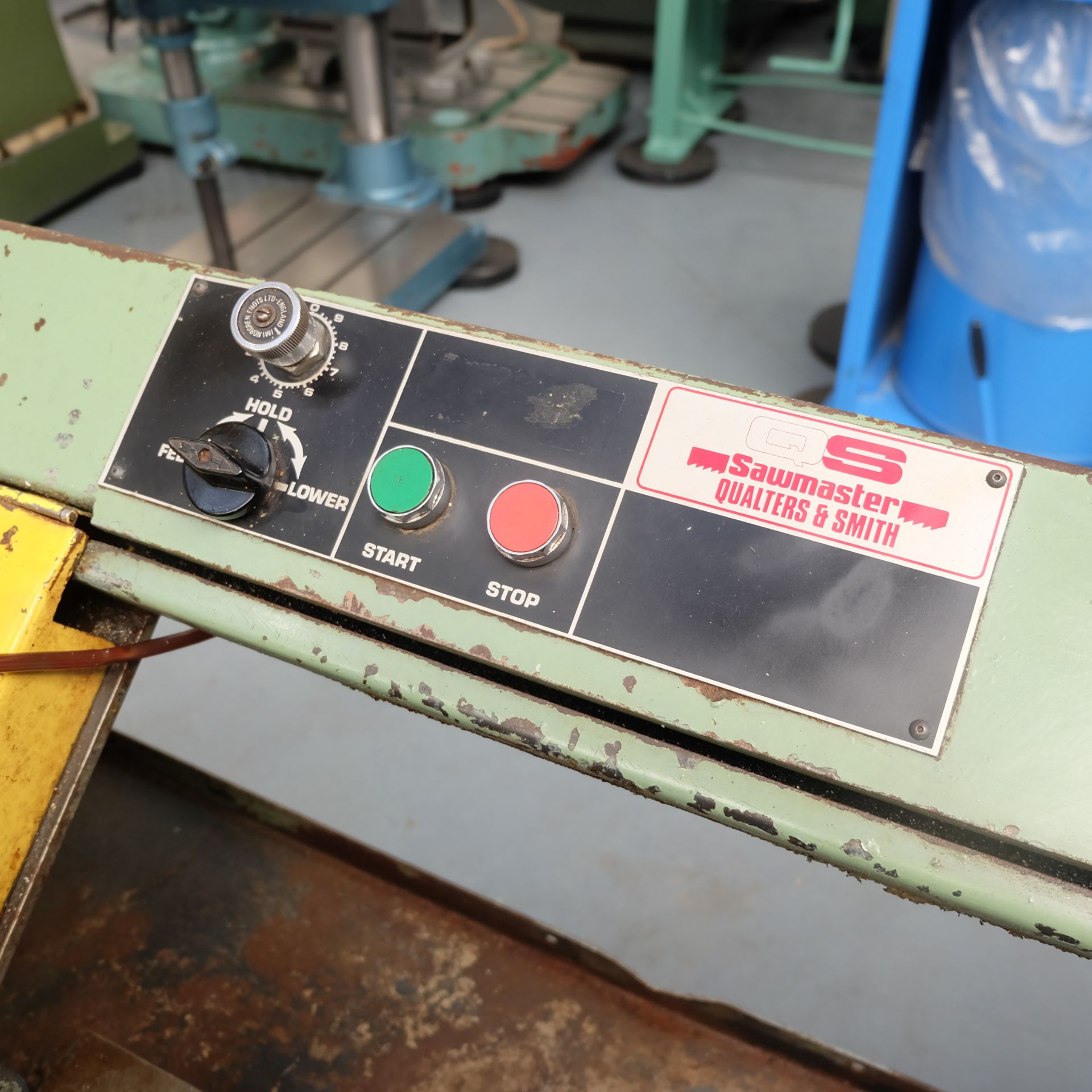 Qualters & Smith Model 180 Sawmaster Horizontal Bandsaw. Capacity Approx 180mm. - Image 5 of 5