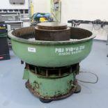 PDJ Vibro Ltd Vibratory Circular Bowl Finisher. Capacity 200ltr. Size 1300mm Diameter.