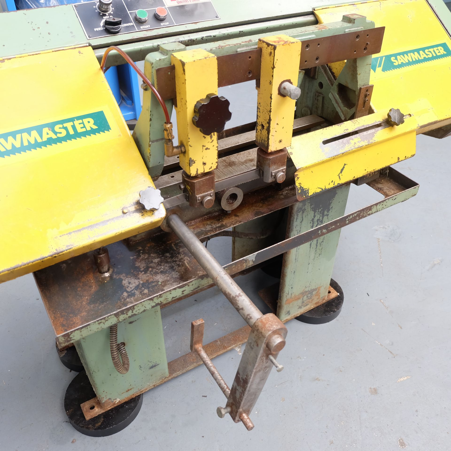 Qualters & Smith Model 180 Sawmaster Horizontal Bandsaw. Capacity Approx 180mm. - Image 3 of 5