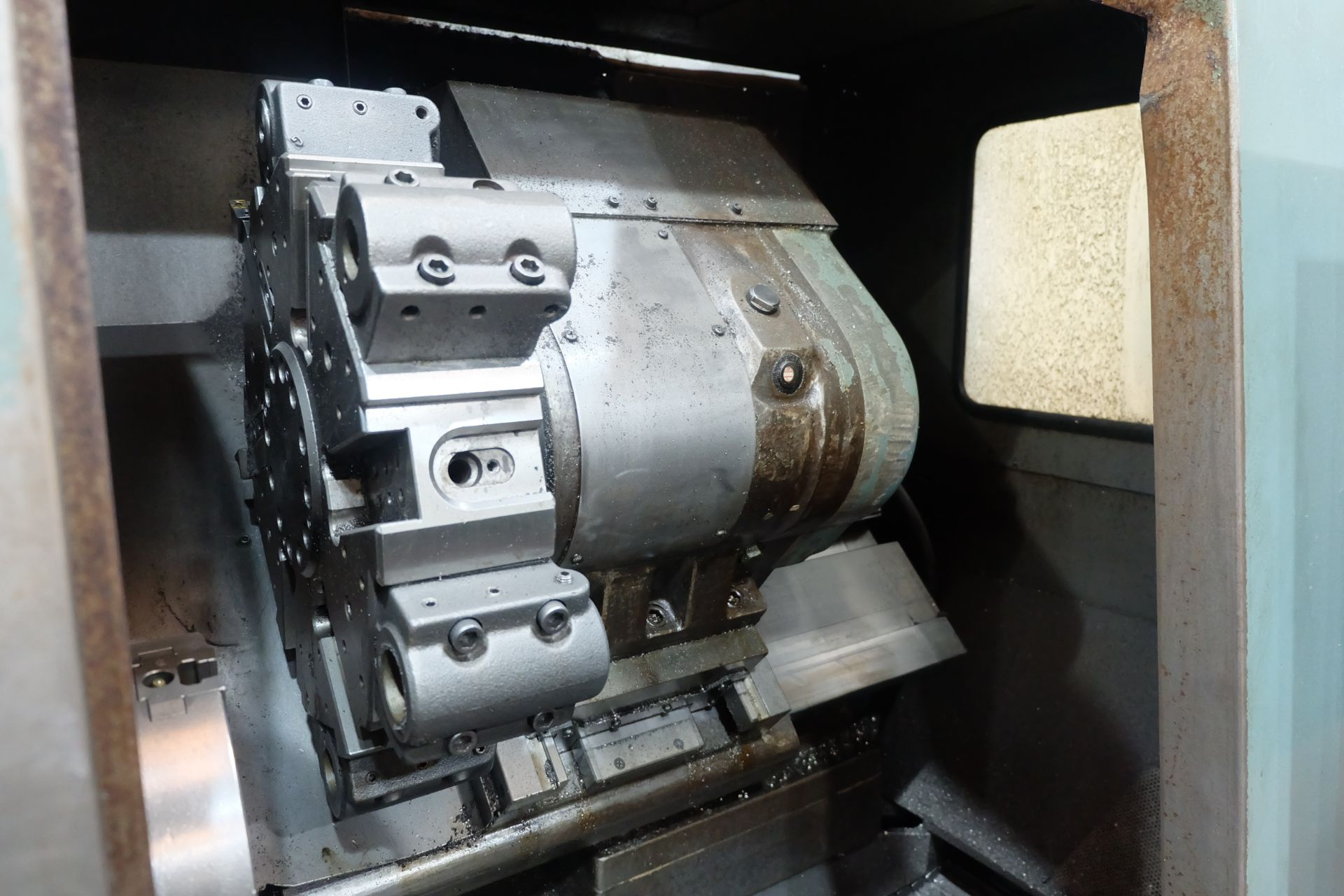 Lot 5a - Mori Seiki SL-2H CNC Turning Lathe With Fanuc 11T Control.