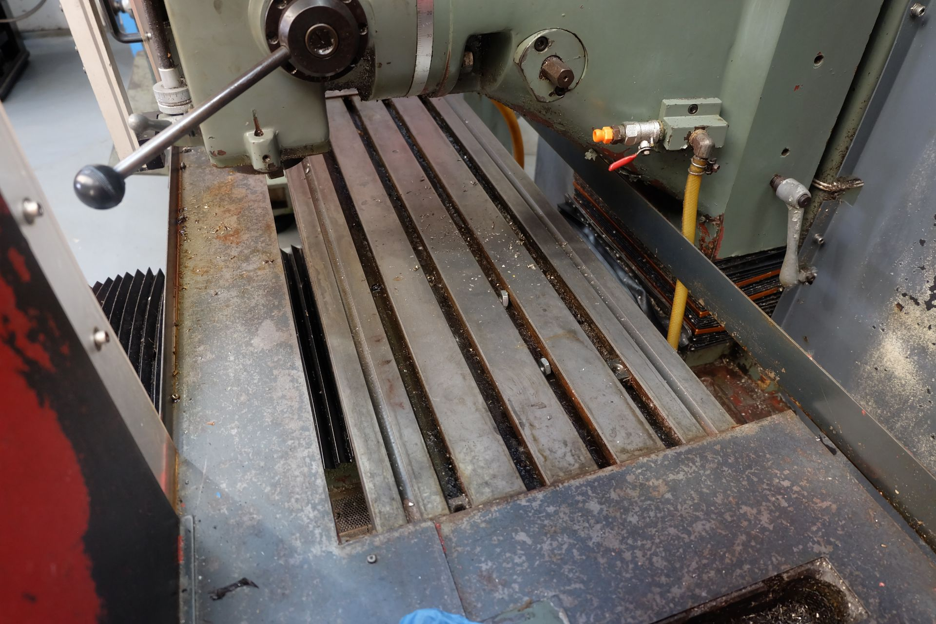 """Lot 18 - 2 x XYZ Type DPM Milling Machines Table 42"""" x 12 1/2"""". Prototrak MX3 Control. For Spares or Repair."""