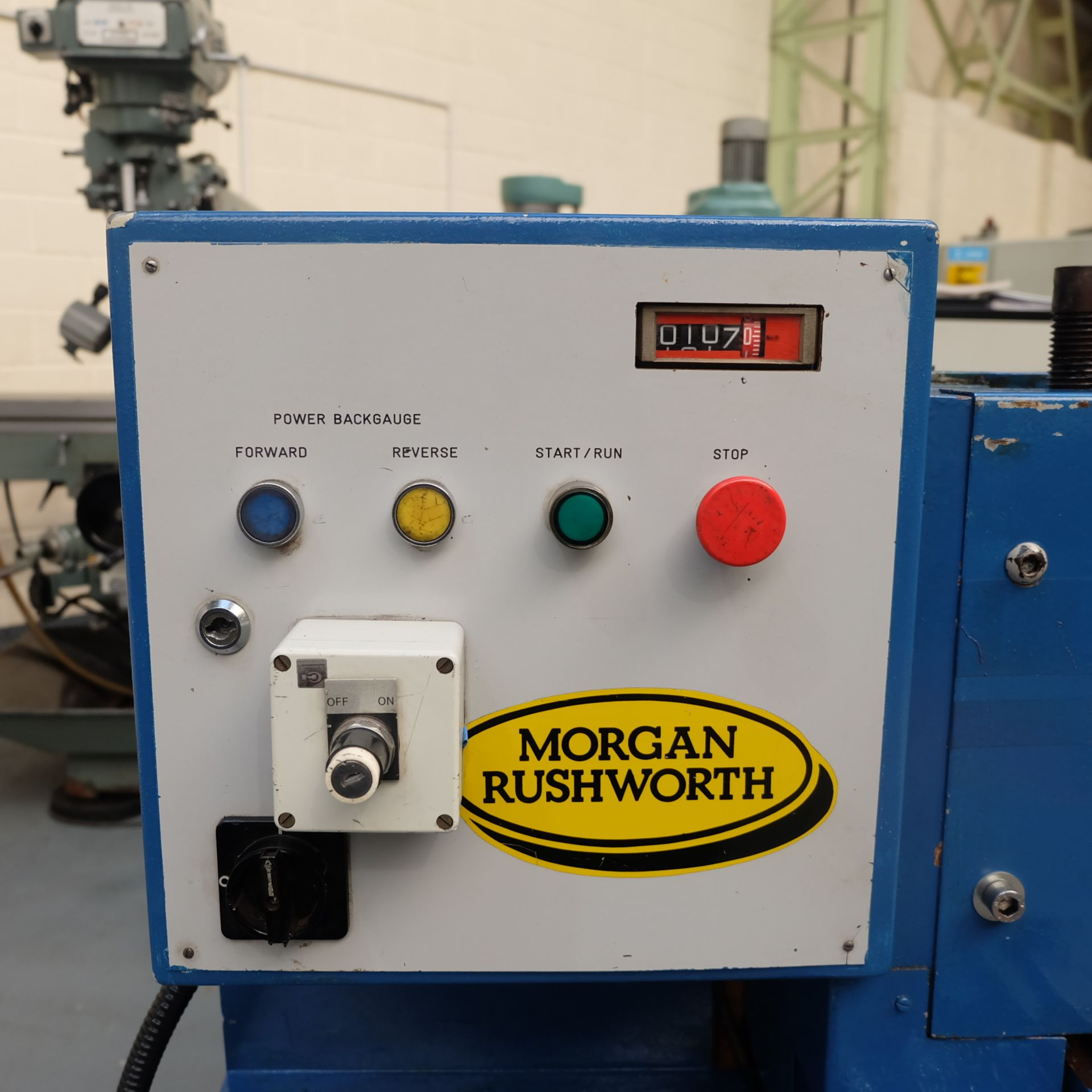 Morgan Rushworth Model SC1500/6: Electric Power Guillotine. - Image 3 of 6