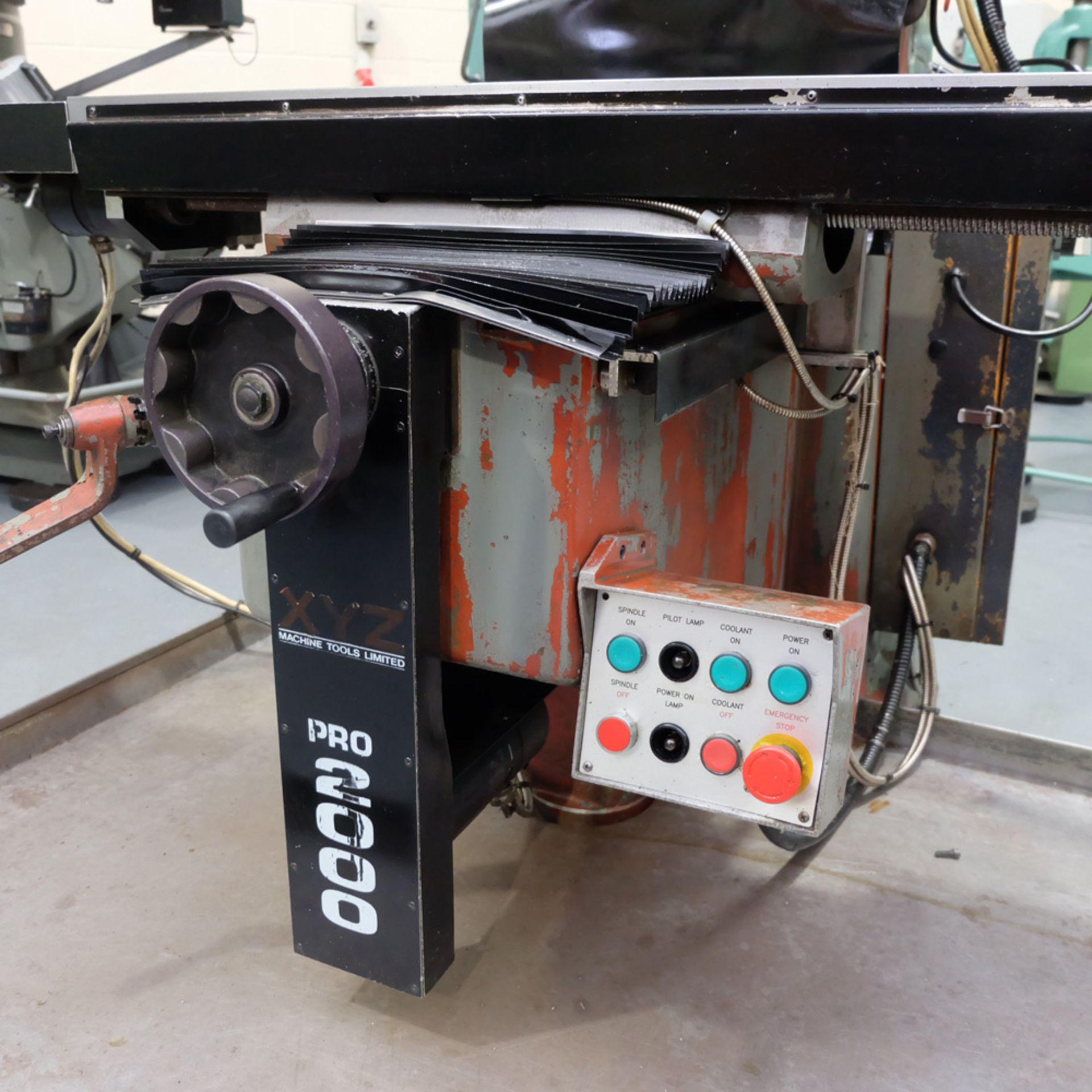 KRV Pro 2000: Turret Milling Machine. - Image 7 of 11