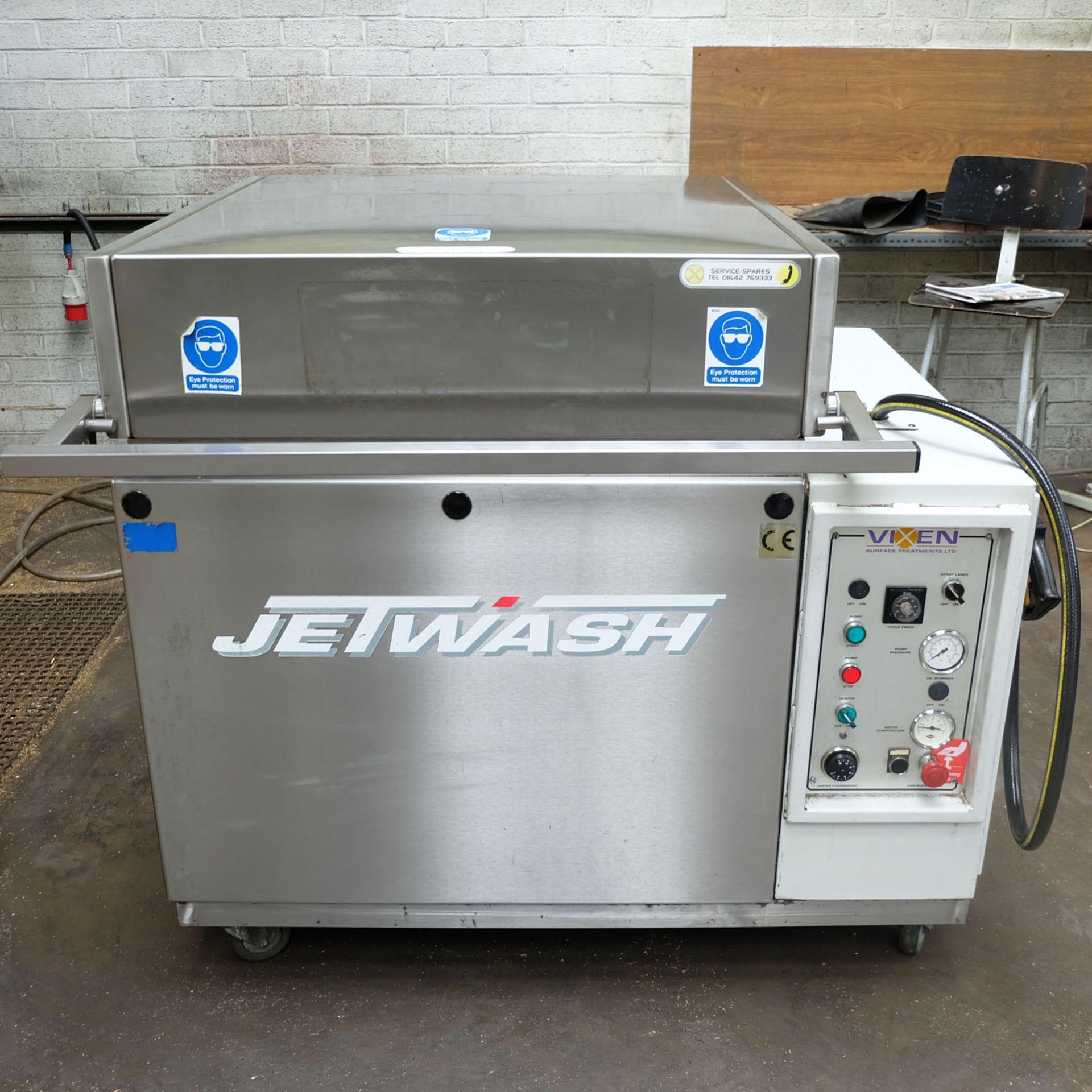 Vixen Jetwash Model JW60 Automatic Hot Wash Rotary Spray Machine. Bowl Size 600mm x 260mm. - Image 2 of 8