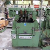 Sturino Model ST-71 Three Spindle Automatic Rotary Transfer Machine. Spindle Taper 30 Int.