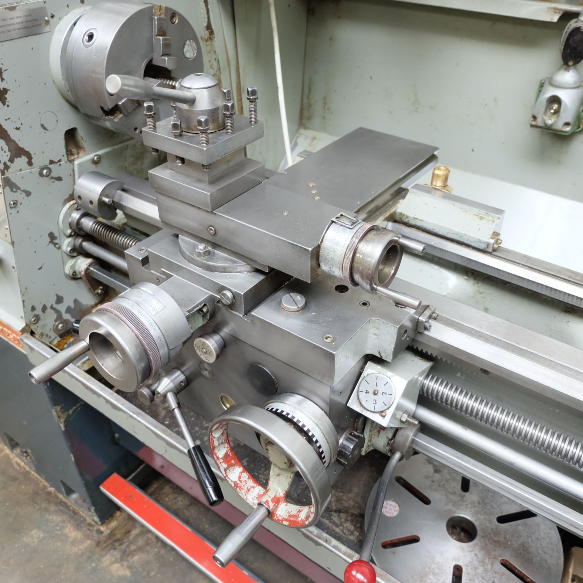 Colchester Master 2500 Gap Bed Centre Lathe. - Image 7 of 10