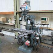 Bridgeport BR2J Variable Speed Head Turret Milling Machine.