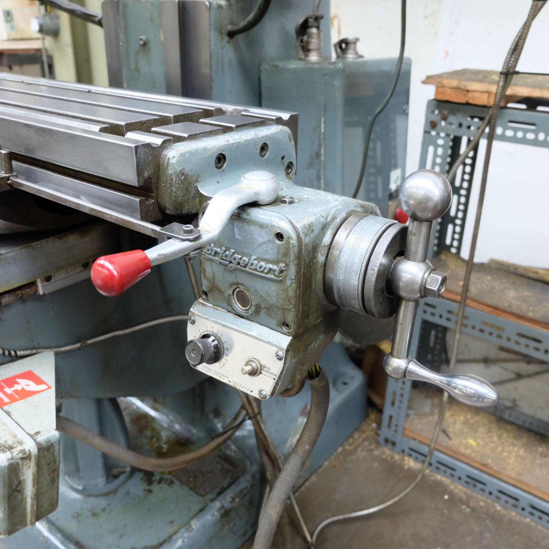 Bridgeport BR2J Variable Speed Head Turret Milling Machine. - Image 5 of 7