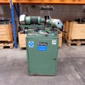 Brierley ZB 25 Cam Type Drill Grinding Machine. Capacity 25mm. With 6 Jaw Chuck and 3 Cams.