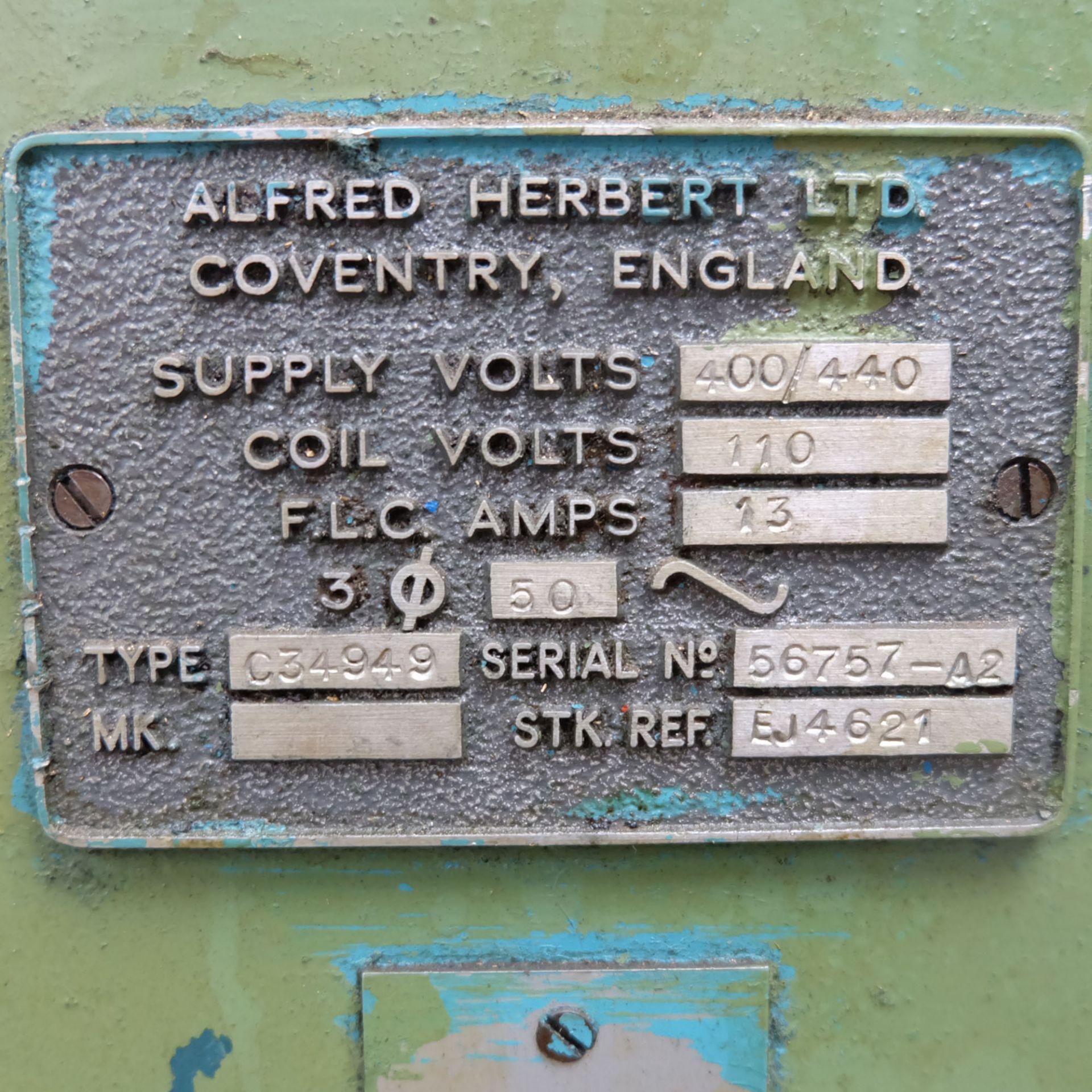 Herbert No.2 Senior Monoslide Lathe. - Image 10 of 10