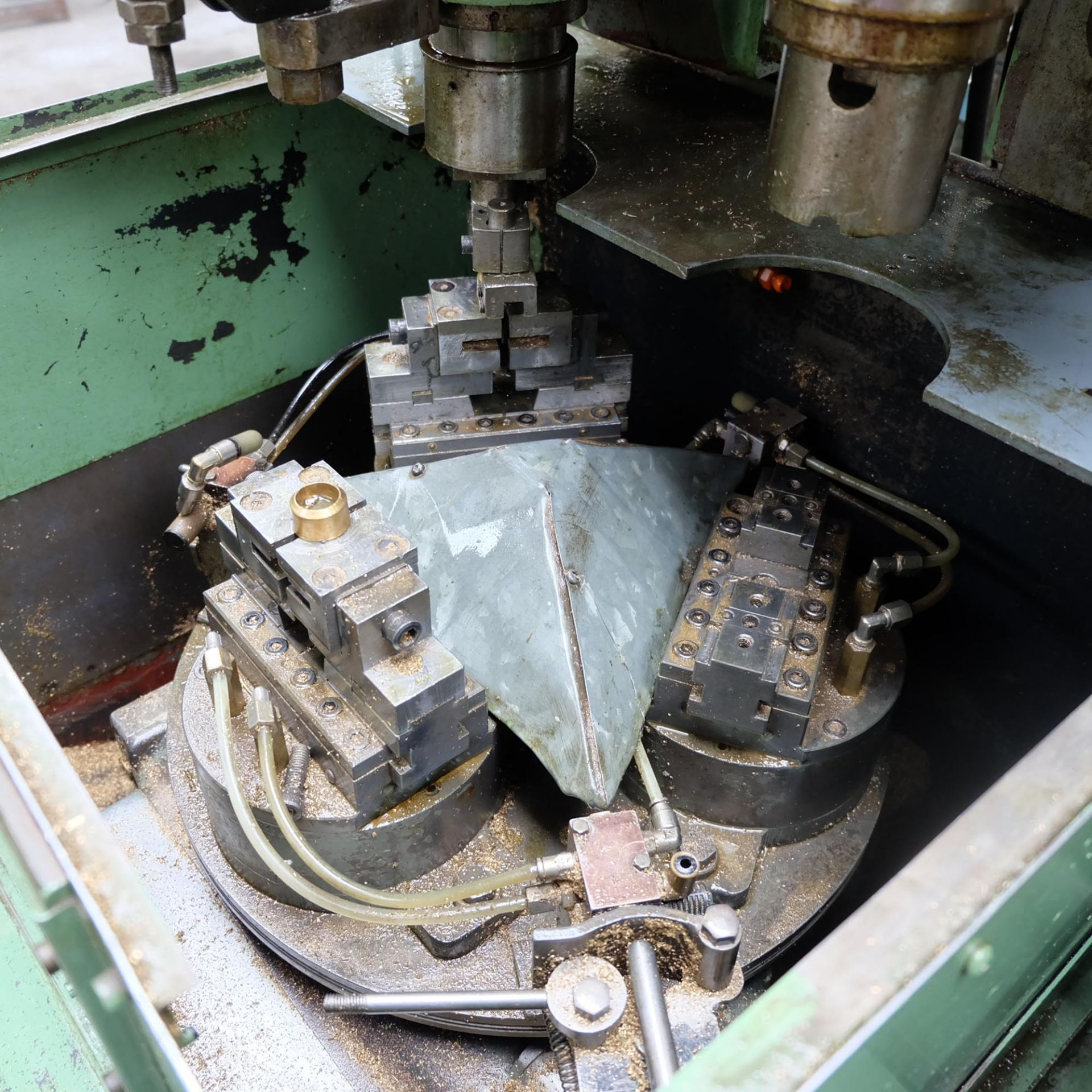 Sturino Model ST-66 Two Spindle Automatic Rotary Transfer Machine. Spindle Taper 30 Int. - Image 4 of 8