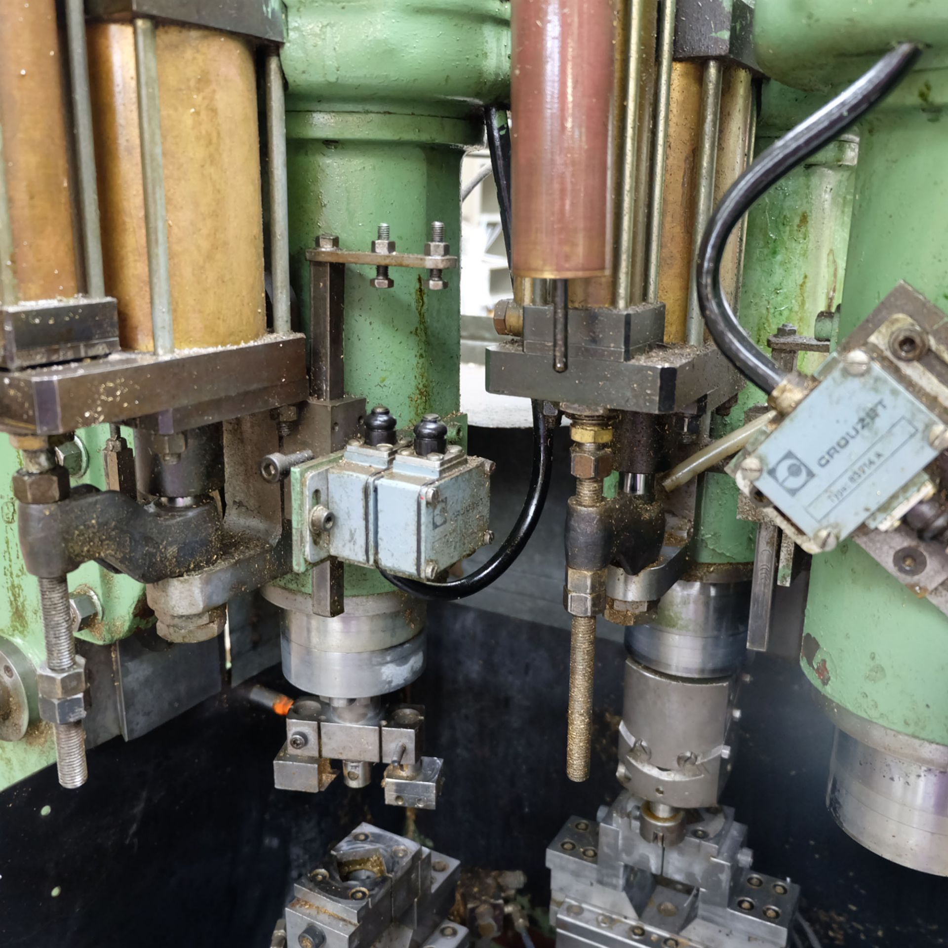 Sturino Model ST-71 Three Spindle Automatic Rotary Transfer Machine. Spindle Taper 30 Int. - Image 5 of 10