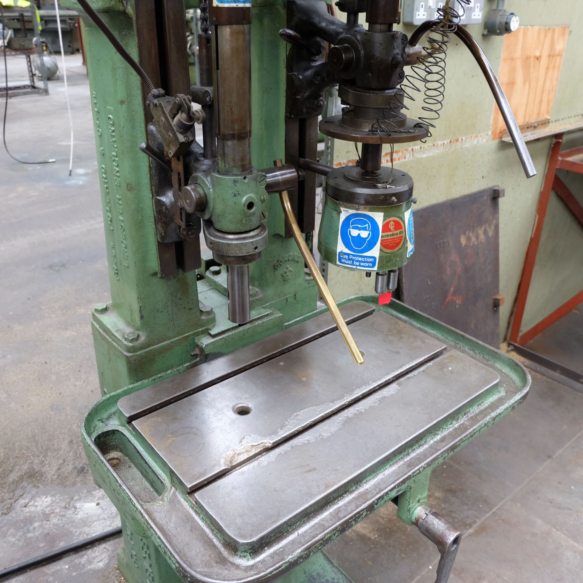 """Pollard Corona Two Spindle Drill. Table Size 24"""" x 16"""". - Image 3 of 5"""