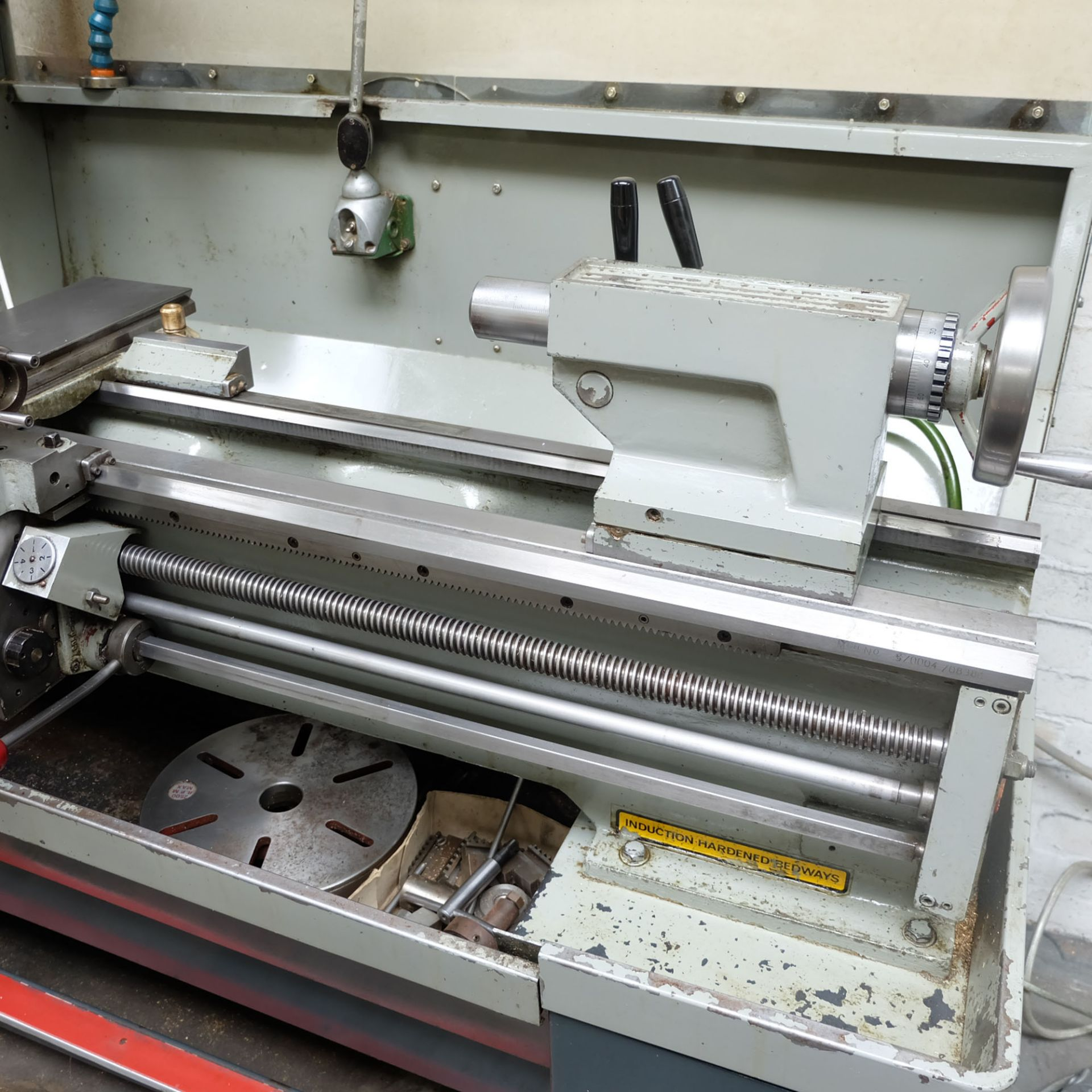 Colchester Master 2500 Gap Bed Centre Lathe. - Image 8 of 10