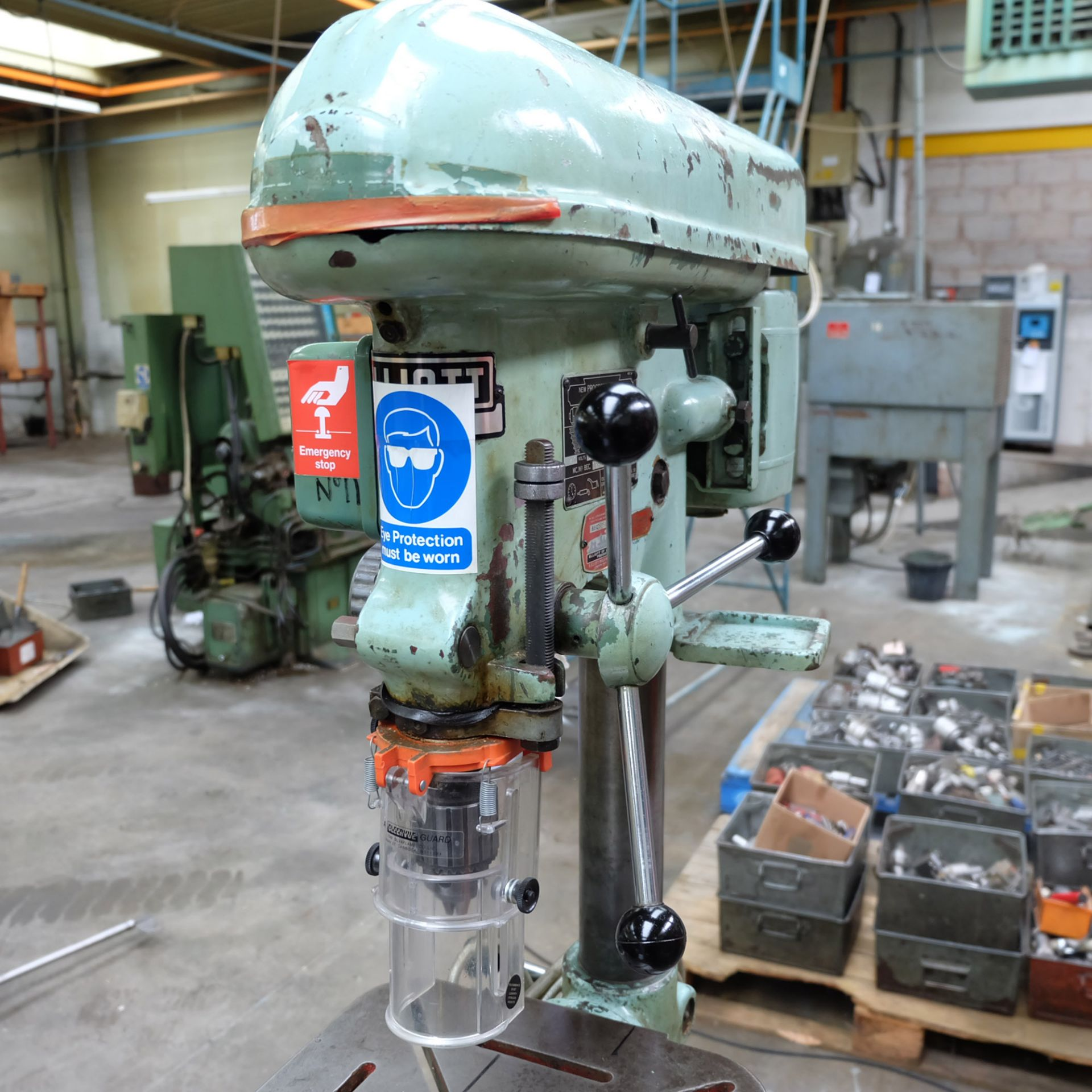 """Elliot Progress No.1 Bench Drill. 1/2"""" Drilling Capacity. Spindle Speeds: 340-2580rpm. - Image 2 of 4"""