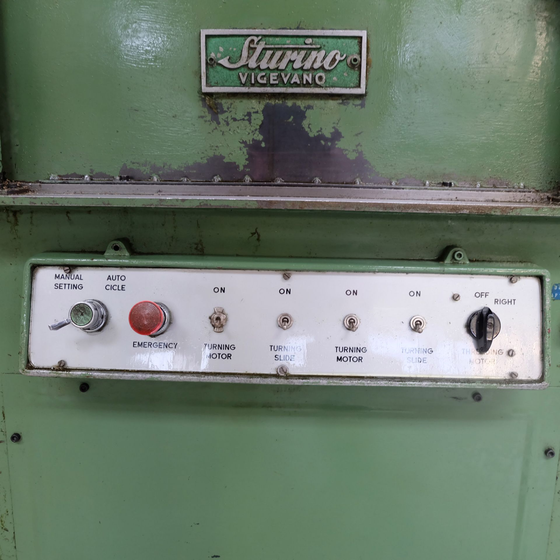 Sturino Model ST-71 Three Spindle Automatic Rotary Transfer Machine. Spindle Taper 30 Int. - Image 7 of 10